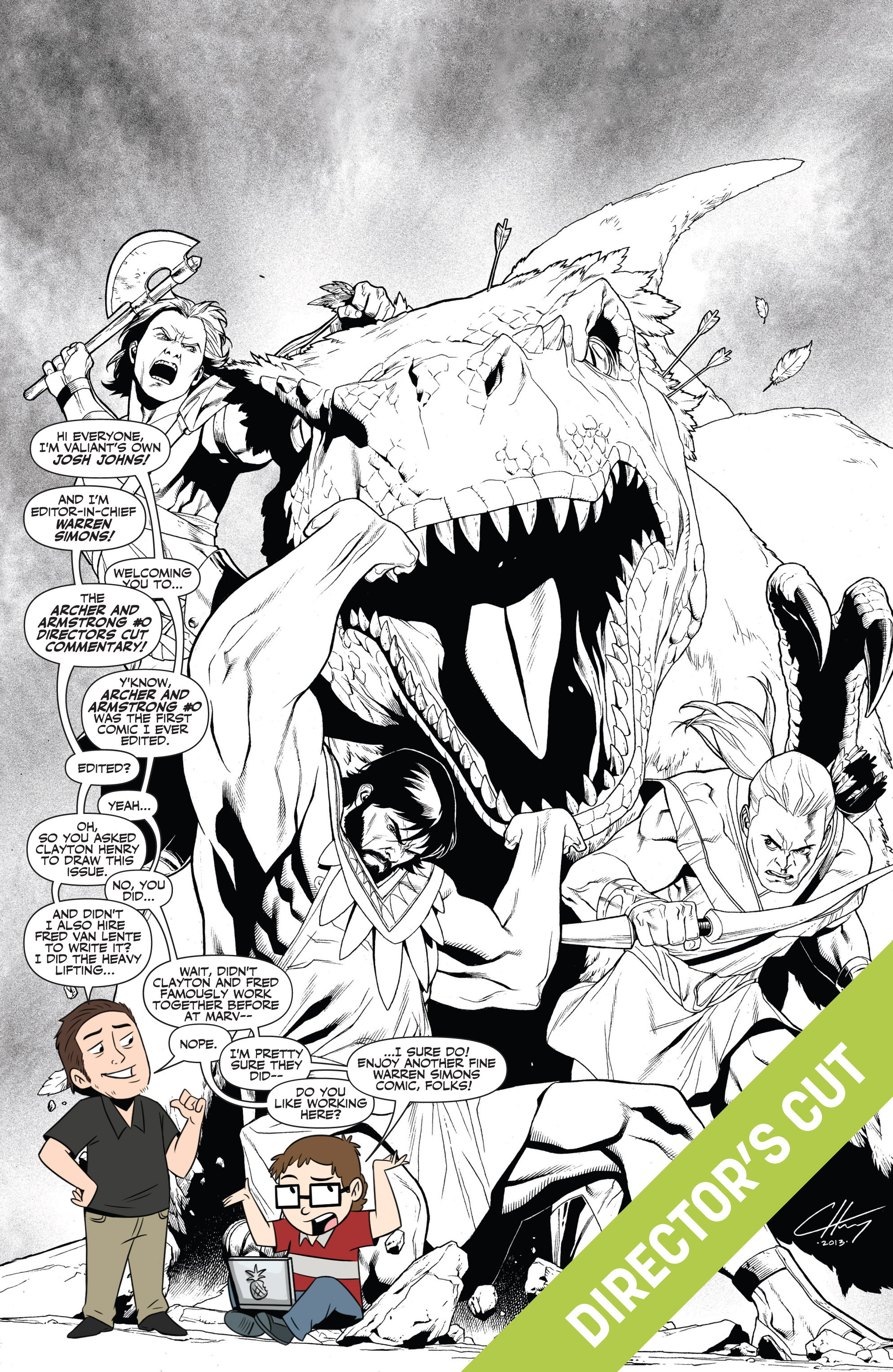 Read online Archer and Armstrong comic -  Issue #Archer and Armstrong _TPB 7 - 76