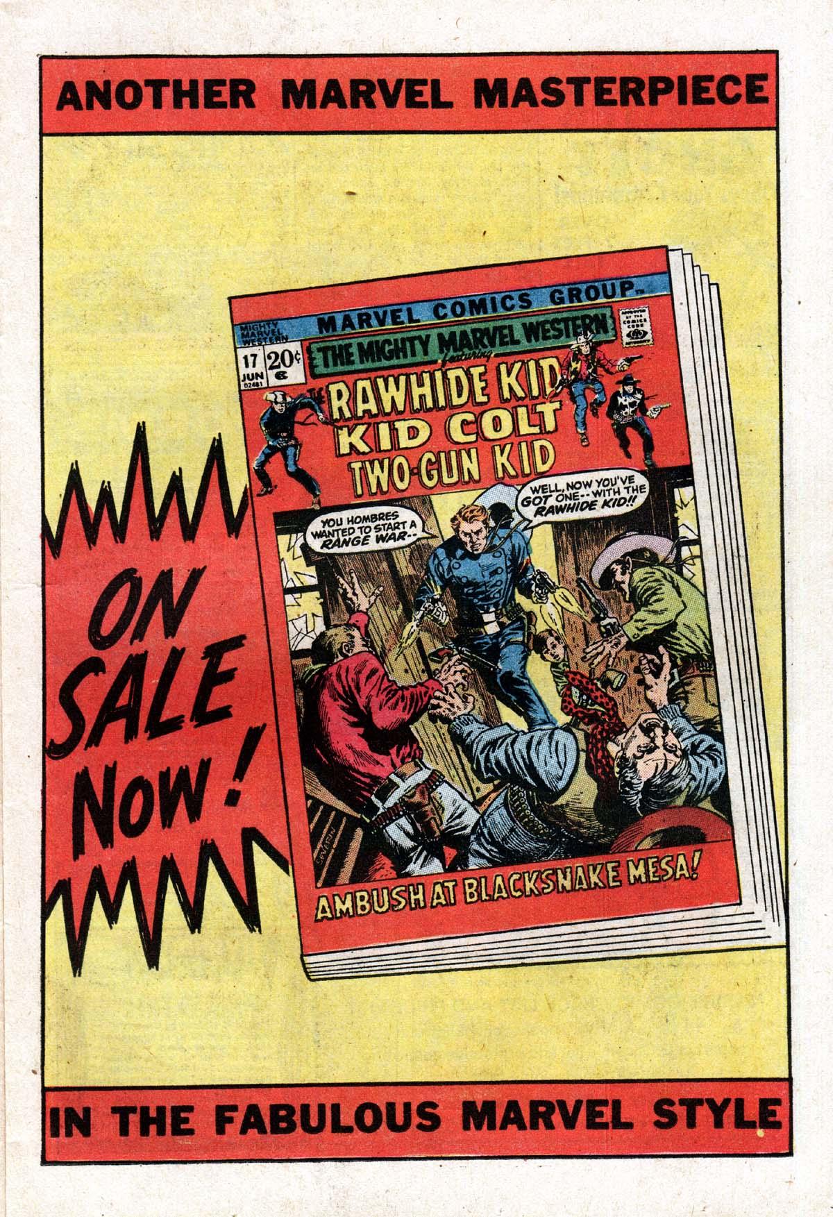 Read online Two-Gun Kid comic -  Issue #104 - 11