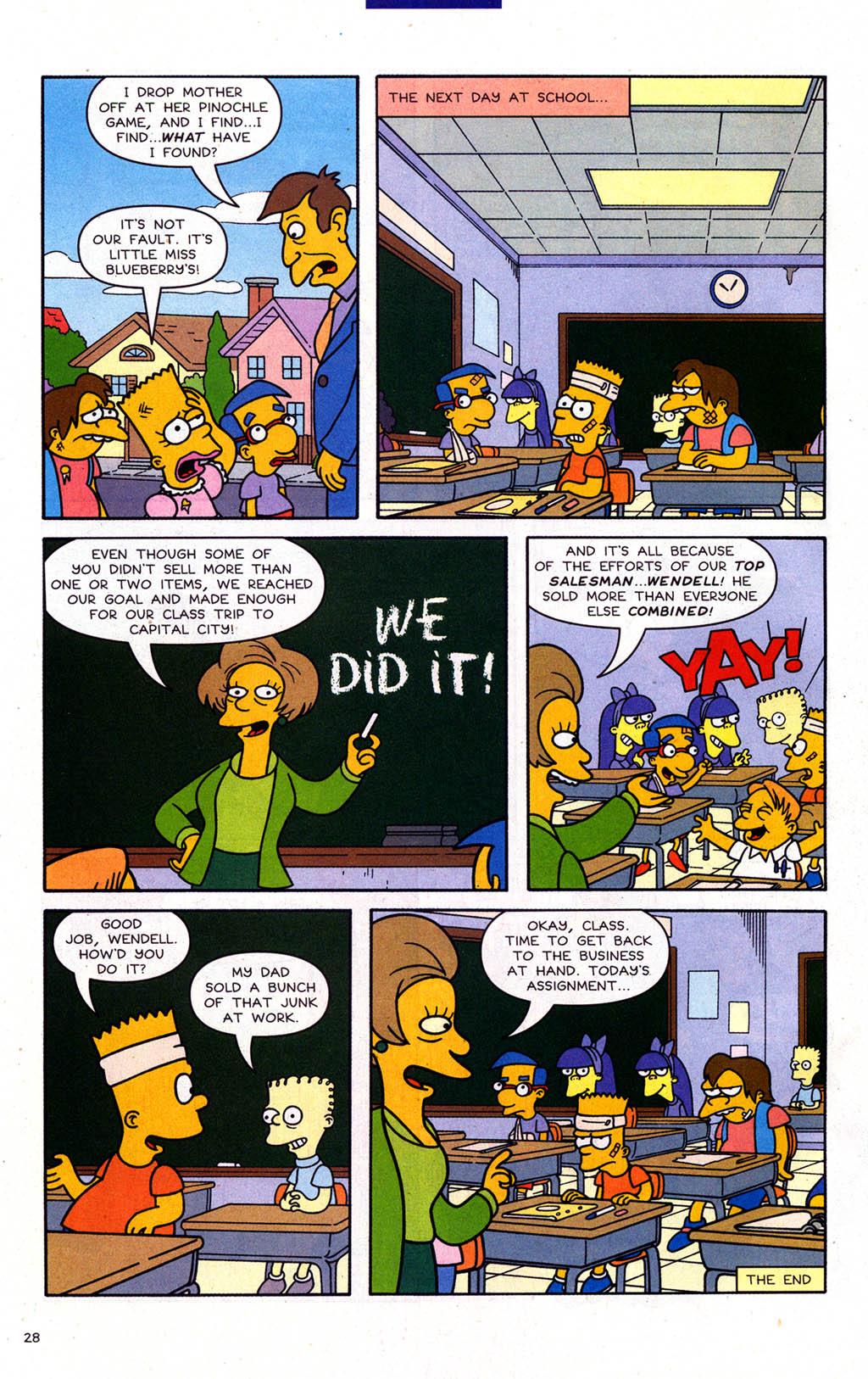Read online Simpsons Comics Presents Bart Simpson comic -  Issue #22 - 30