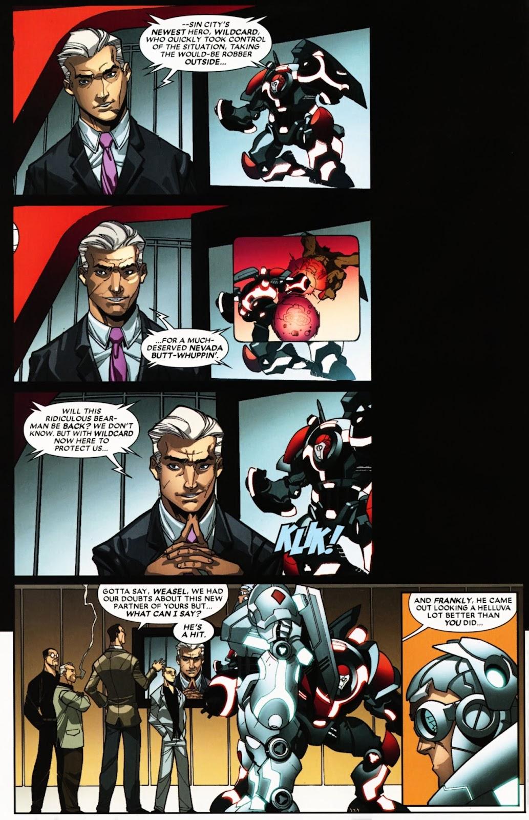 Read online Deadpool (2008) comic -  Issue #24 - 4