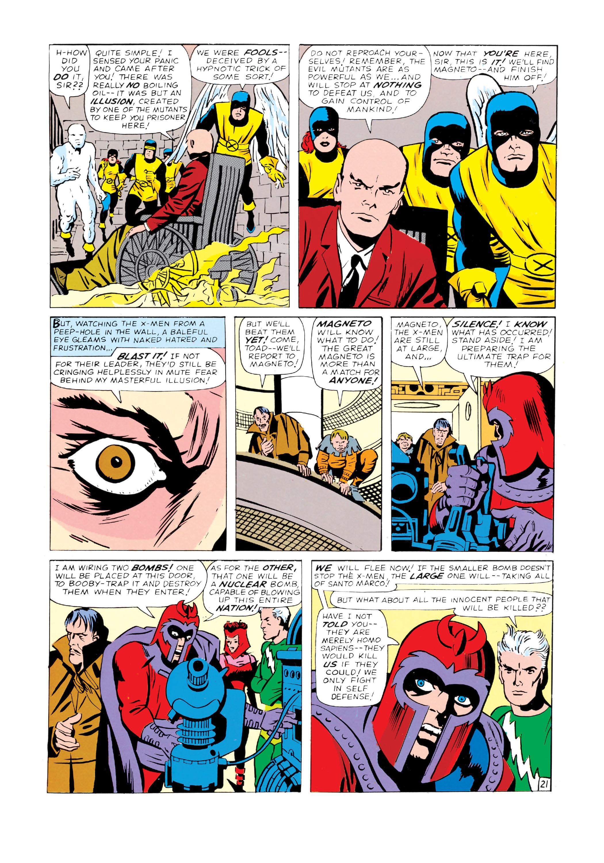 Read online Uncanny X-Men (1963) comic -  Issue #4 - 22