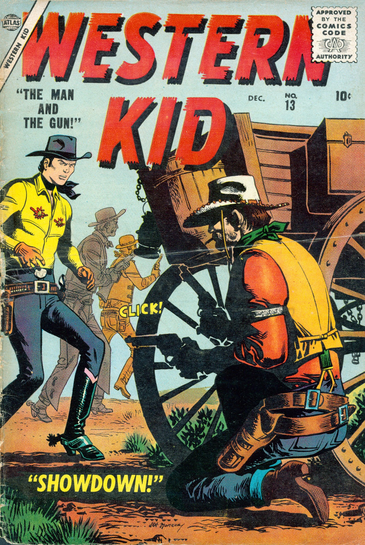 Western Kid 13 Page 1