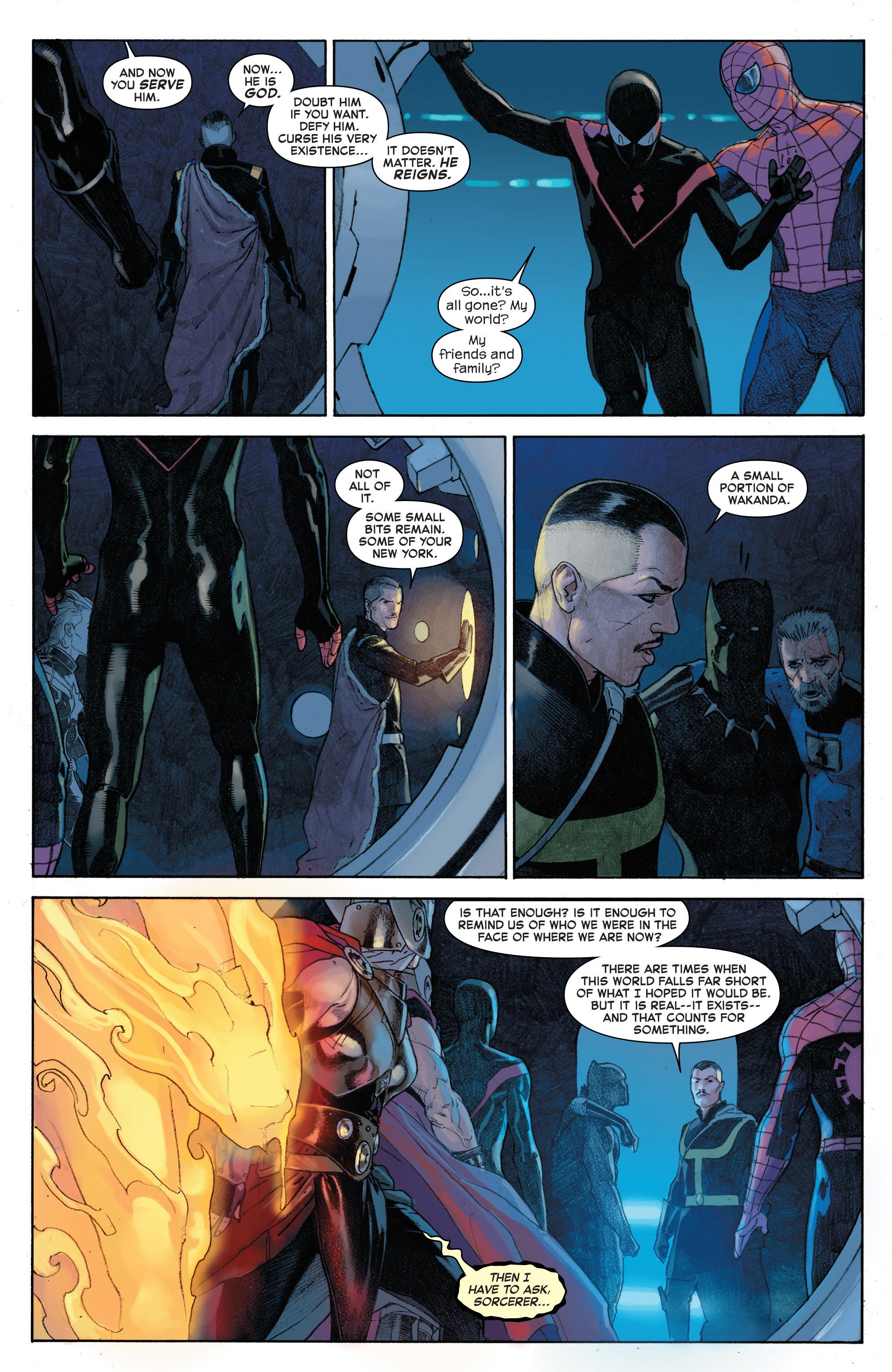 Read online Secret Wars comic -  Issue #4 - 17
