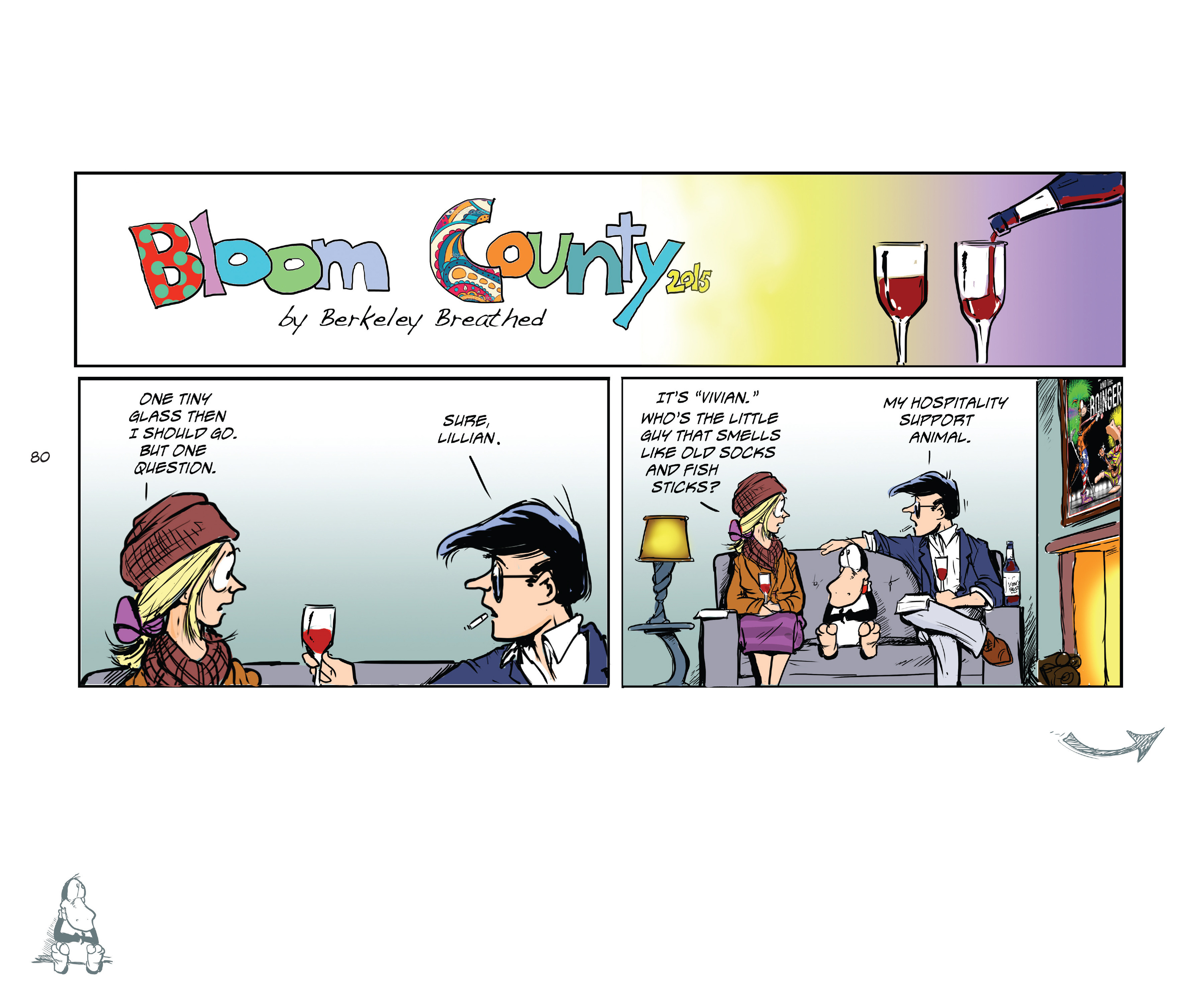 Read online Bloom County Episode XI: A New Hope comic -  Issue # Full - 82
