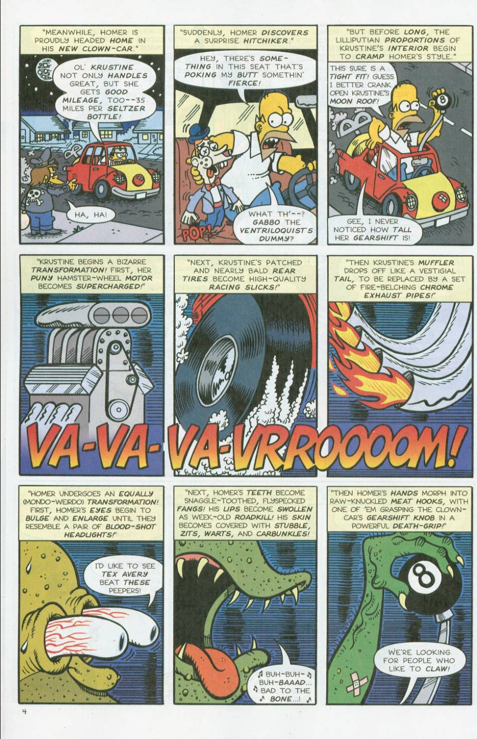 Read online Treehouse of Horror comic -  Issue #8 - 25