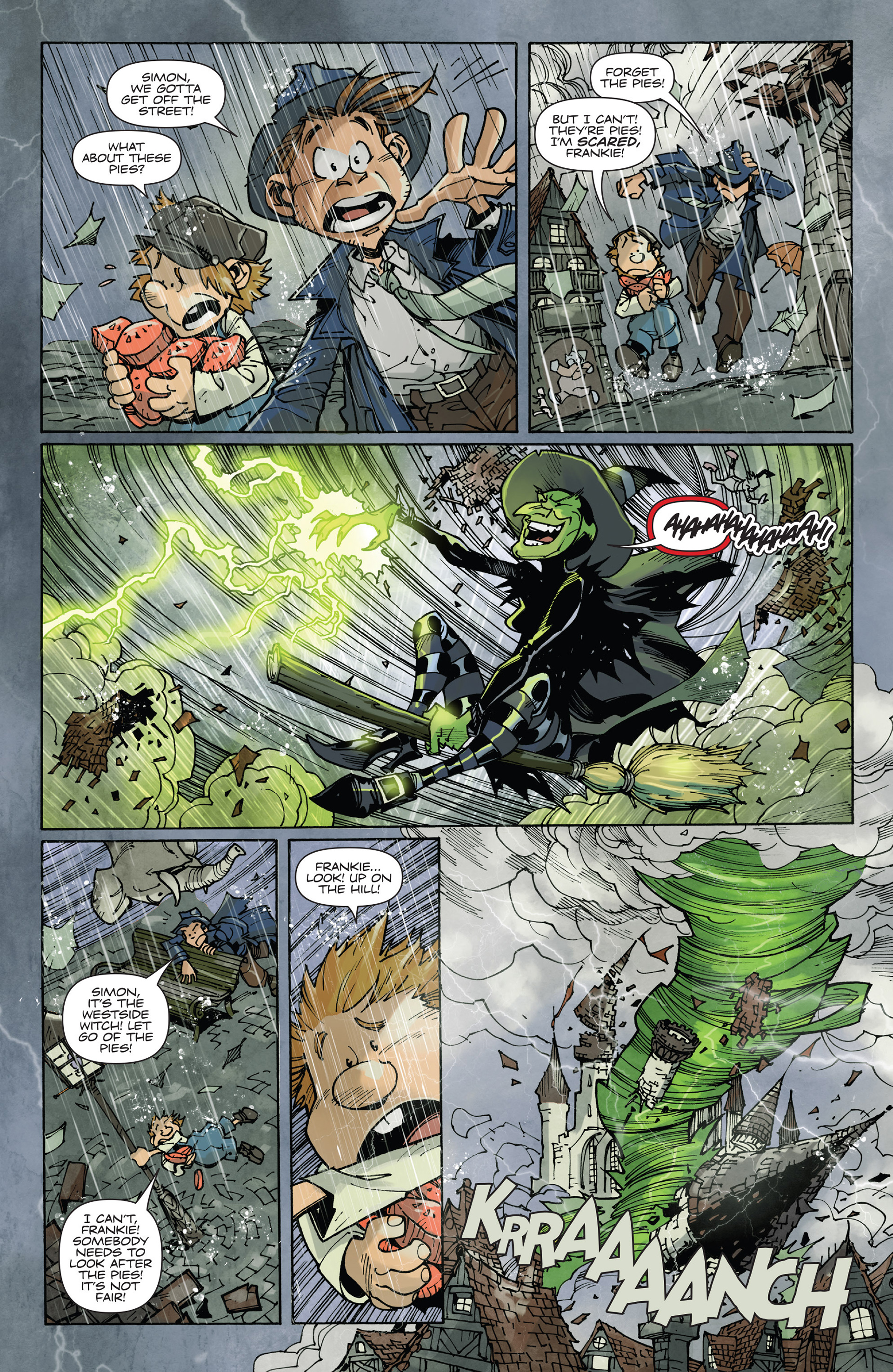 Read online Fiction Squad comic -  Issue #2 - 22