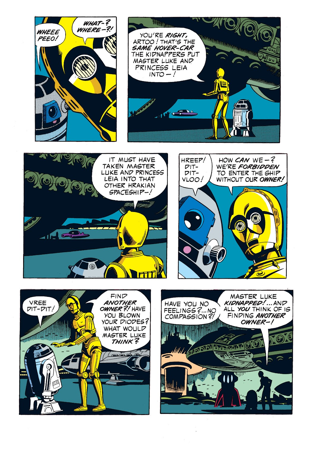 Read online Star Wars Legends: The Newspaper Strips - Epic Collection comic -  Issue # TPB (Part 1) - 60