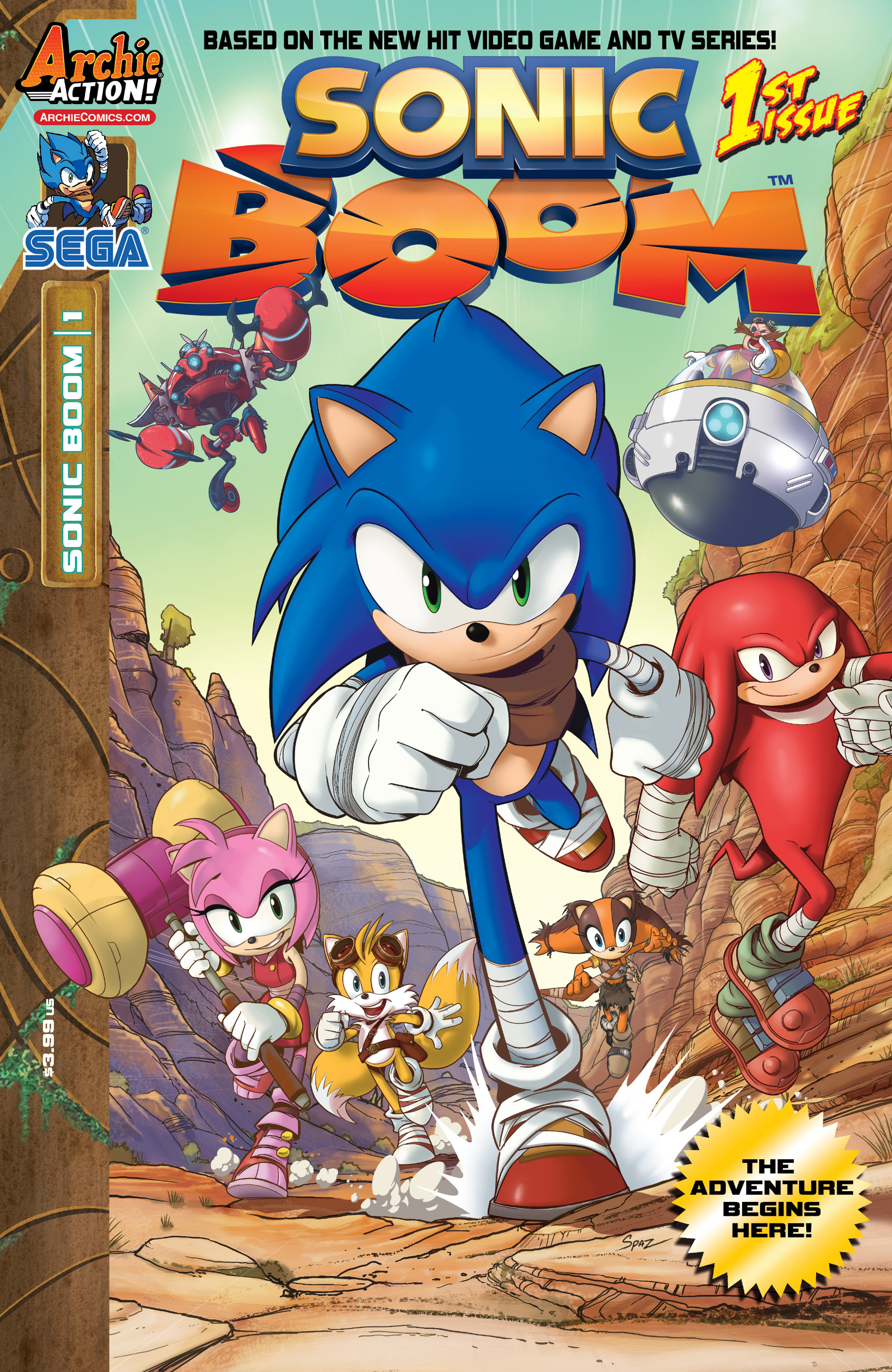 Read online Sonic Boom comic -  Issue #1 - 1