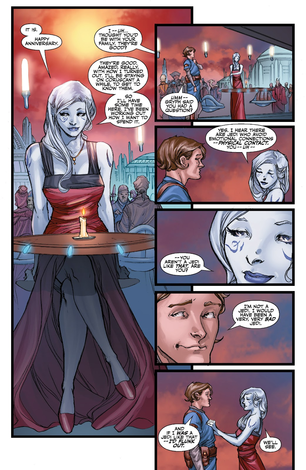 Read online Star Wars Legends: The Old Republic - Epic Collection comic -  Issue # TPB 3 (Part 3) - 100