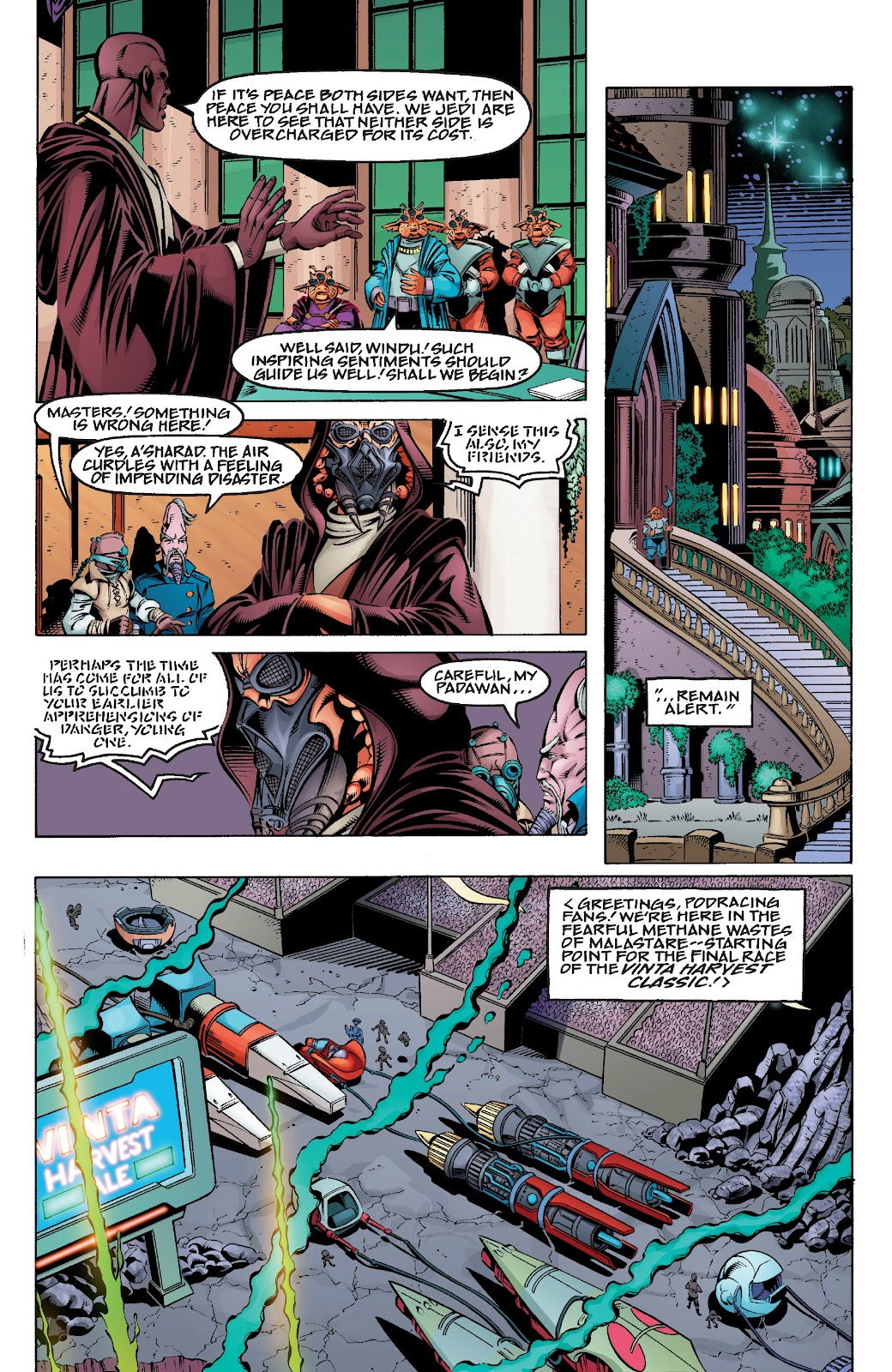Read online Star Wars Legends Epic Collection: The Menace Revealed comic -  Issue # TPB (Part 4) - 2