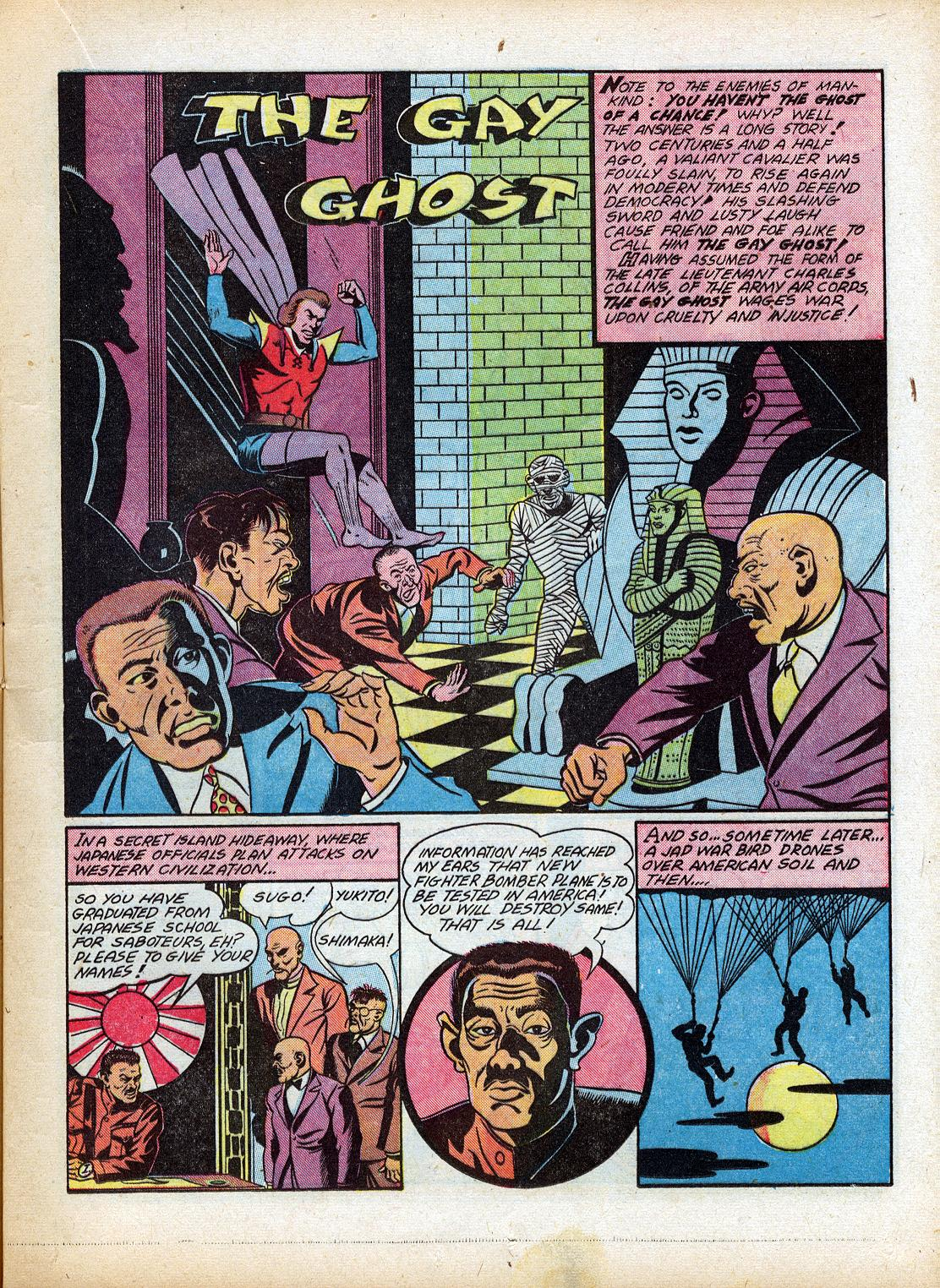 Read online Sensation (Mystery) Comics comic -  Issue #18 - 25