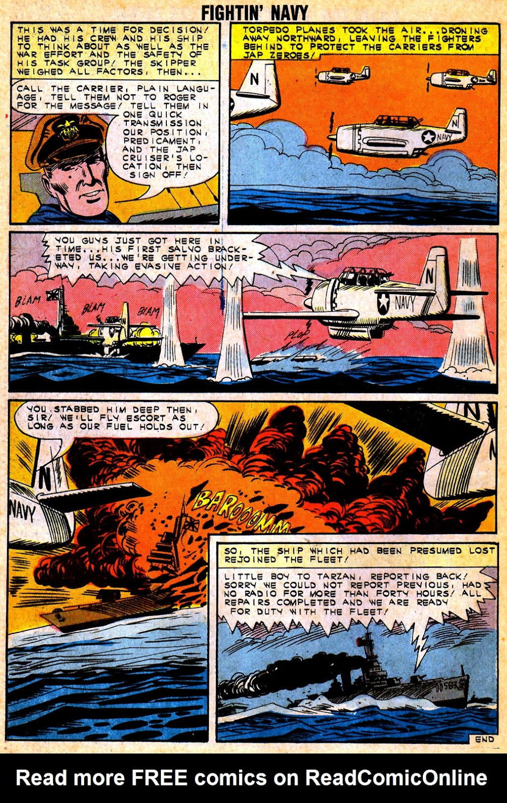 Read online Fightin' Navy comic -  Issue #111 - 26