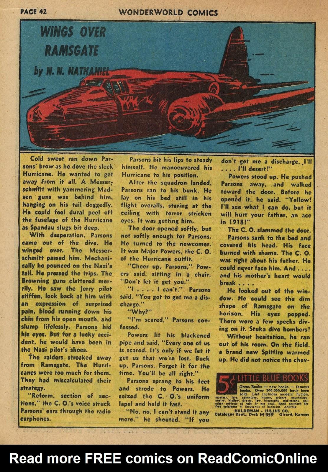 Wonderworld Comics issue 23 - Page 43