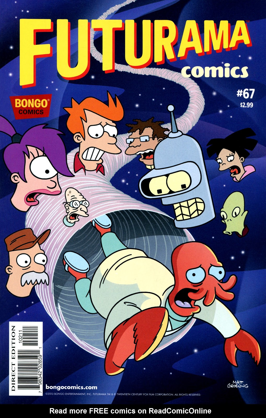 Futurama Comics issue 67 - Page 1
