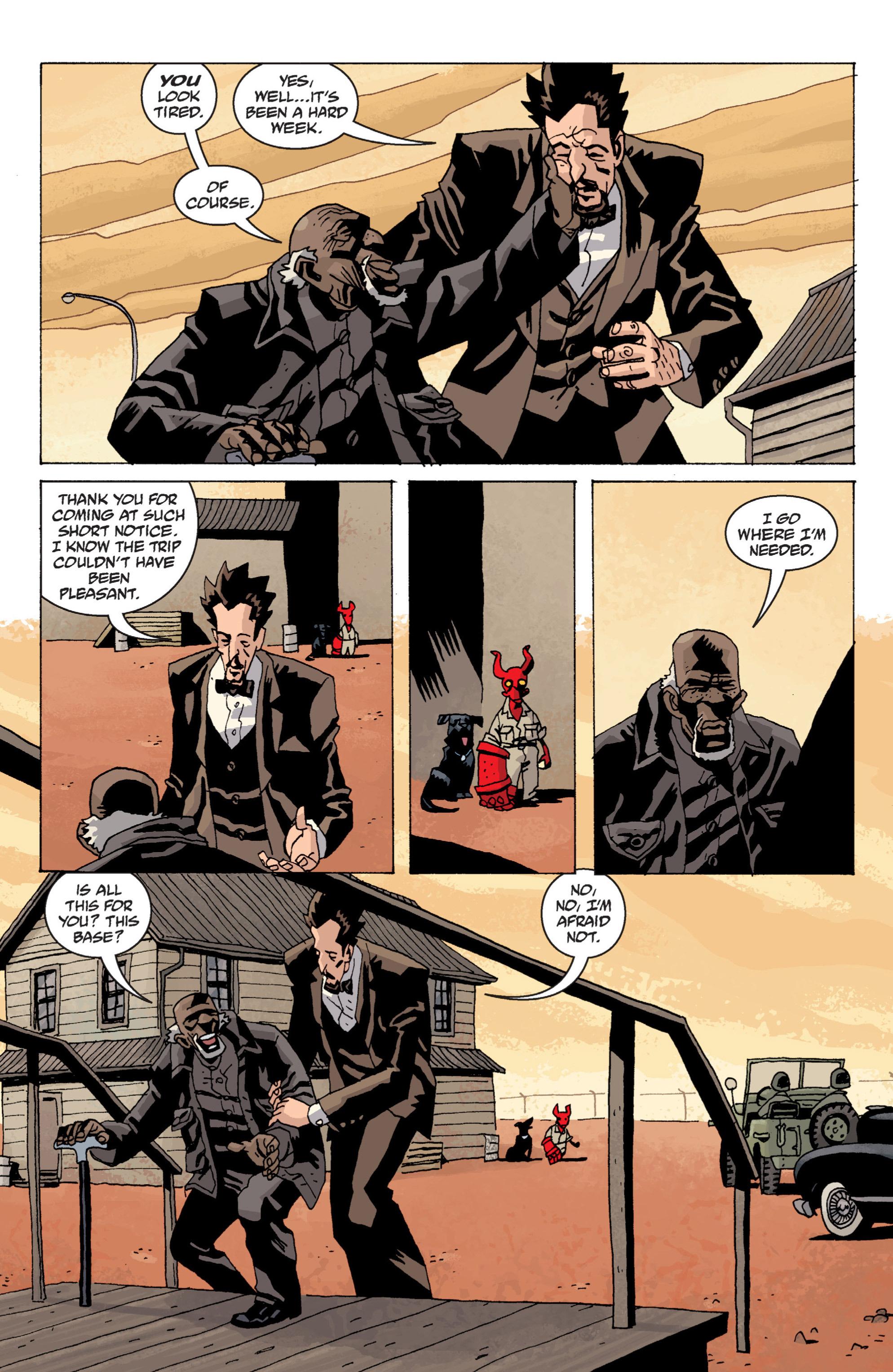 Read online B.P.R.D. (2003) comic -  Issue # TPB 13 - 114