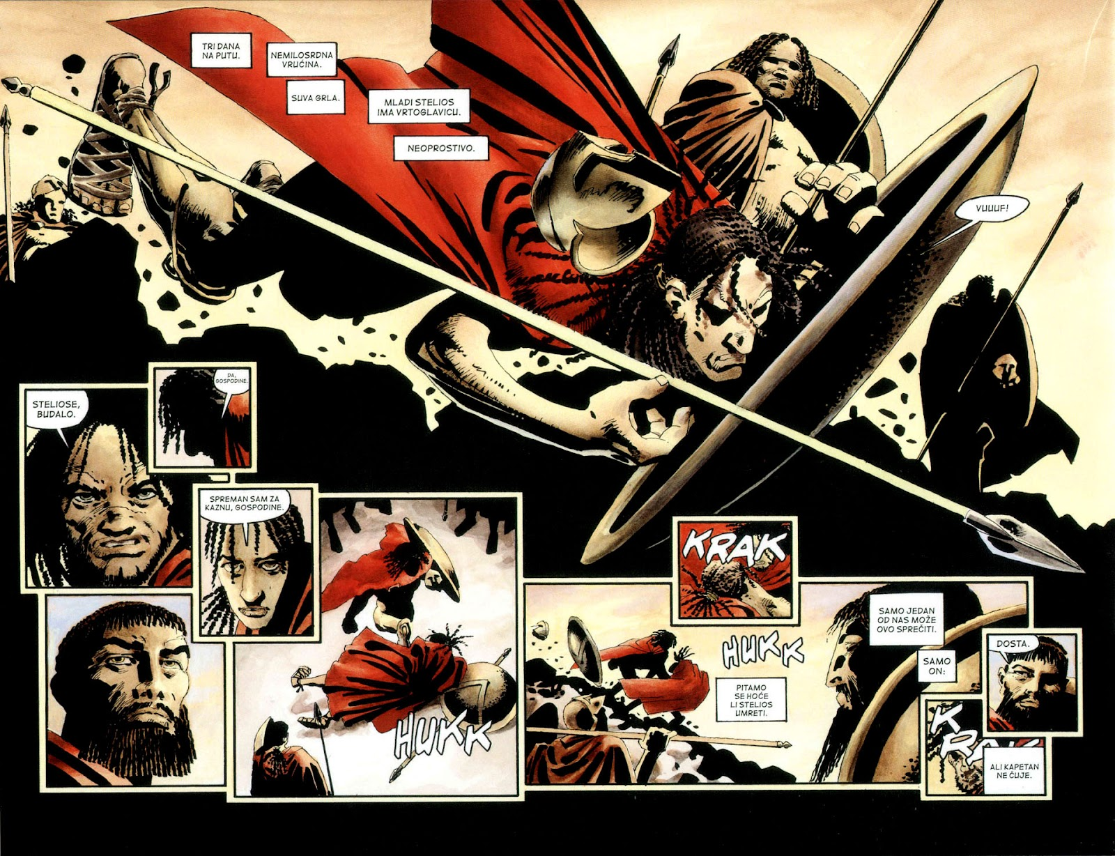 Read online 300 (2007) comic -  Issue # TPB - 11