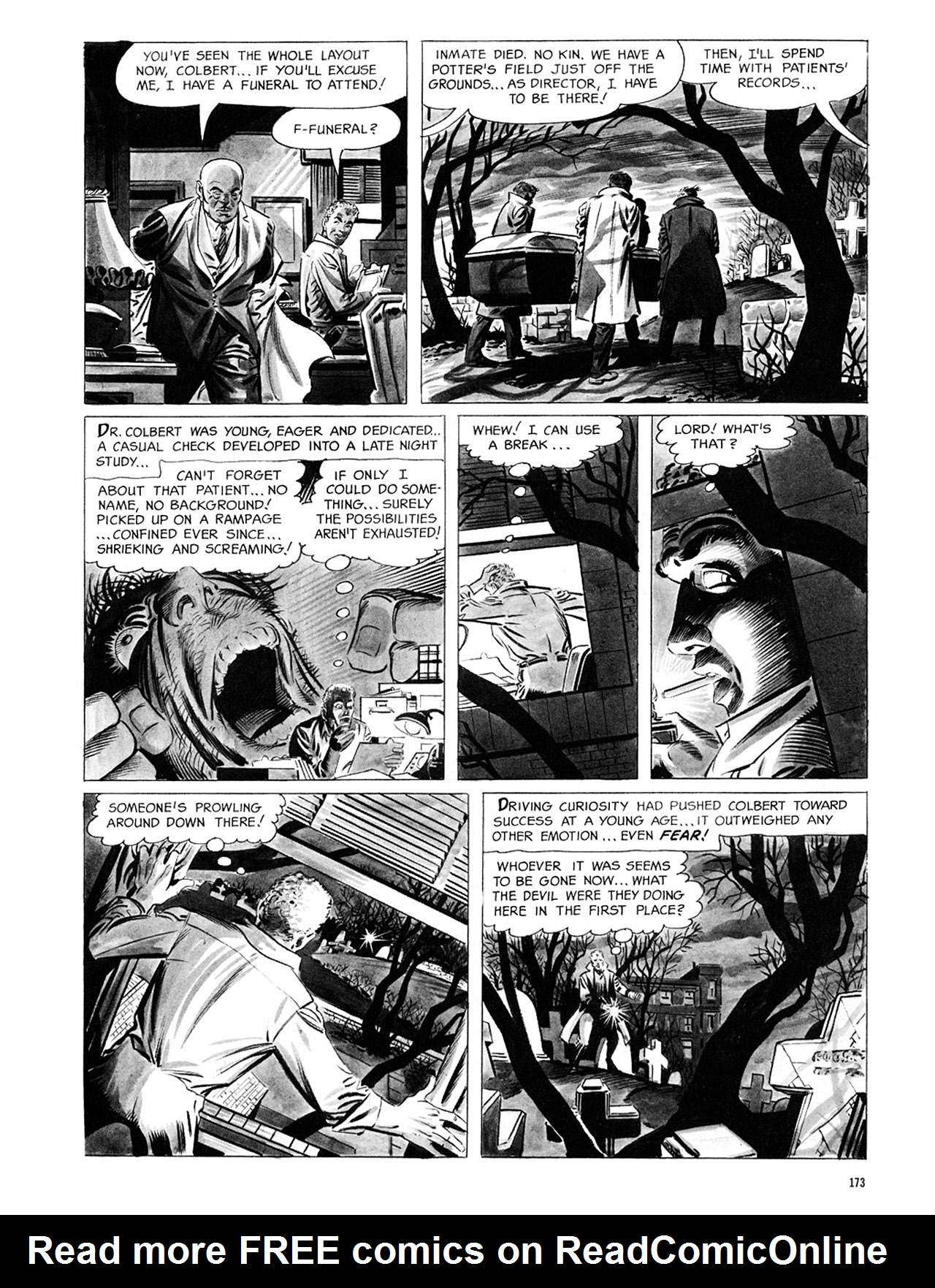 Read online Eerie Archives comic -  Issue # TPB 1 - 174