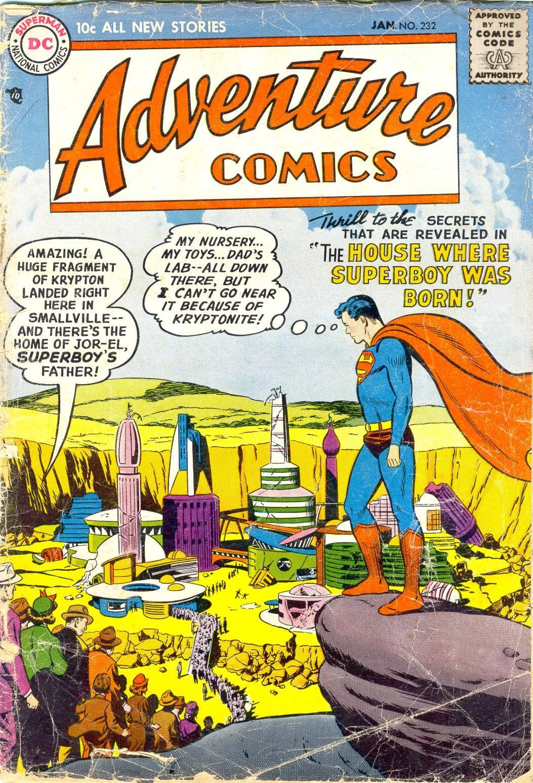 Read online Adventure Comics (1938) comic -  Issue #232 - 1
