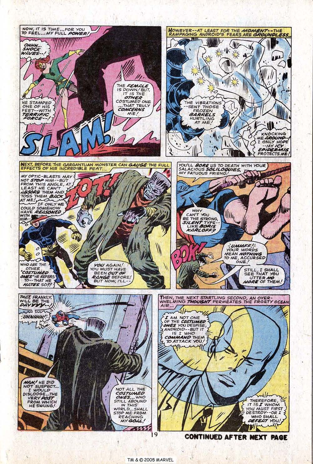 Uncanny X-Men (1963) issue 88 - Page 21