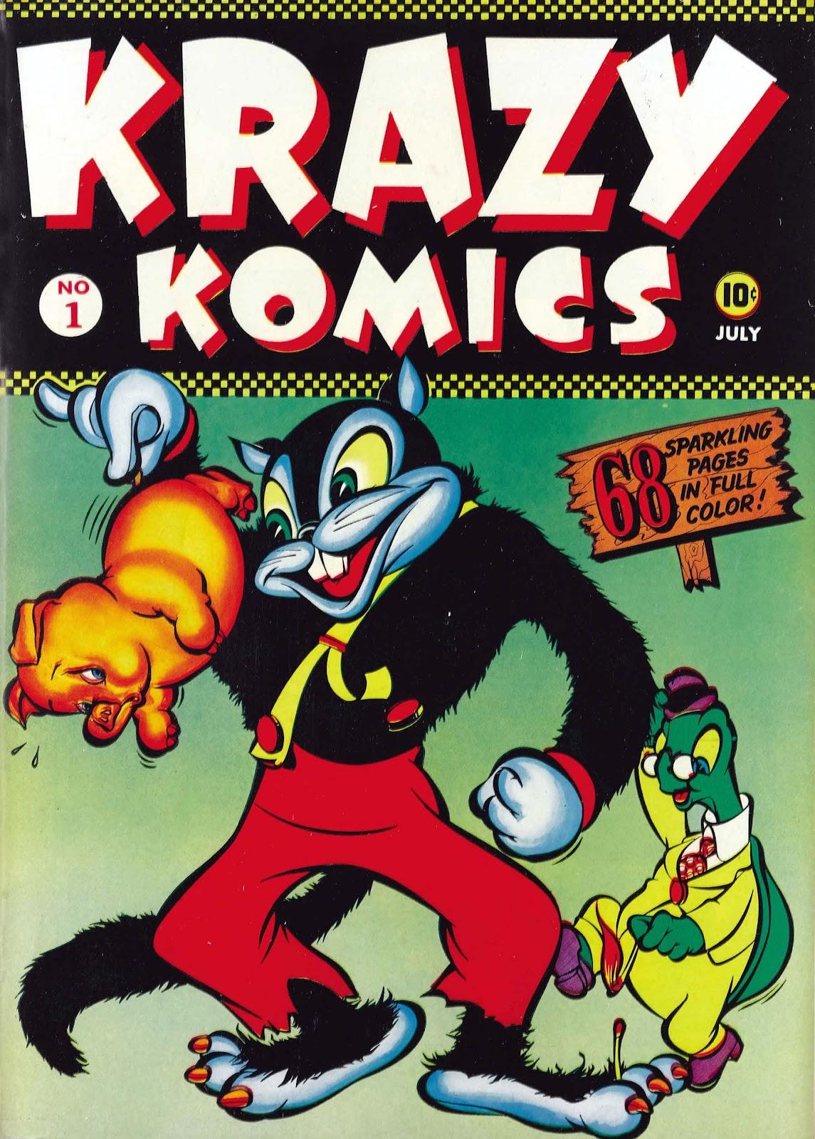Krazy Komics issue 1 - Page 1