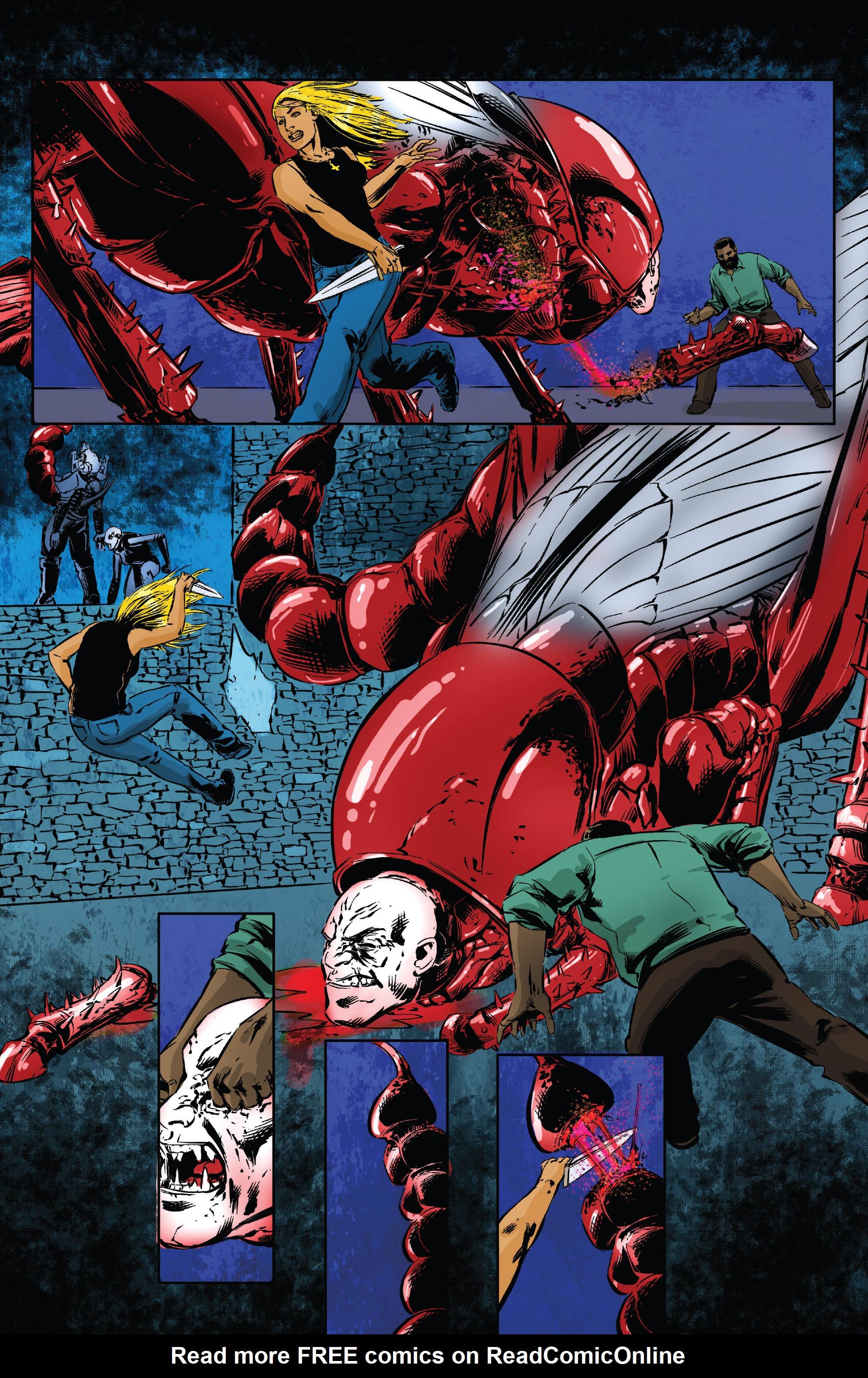 Read online Clive Barker's Hellraiser: The Dark Watch comic -  Issue # TPB 3 - 53