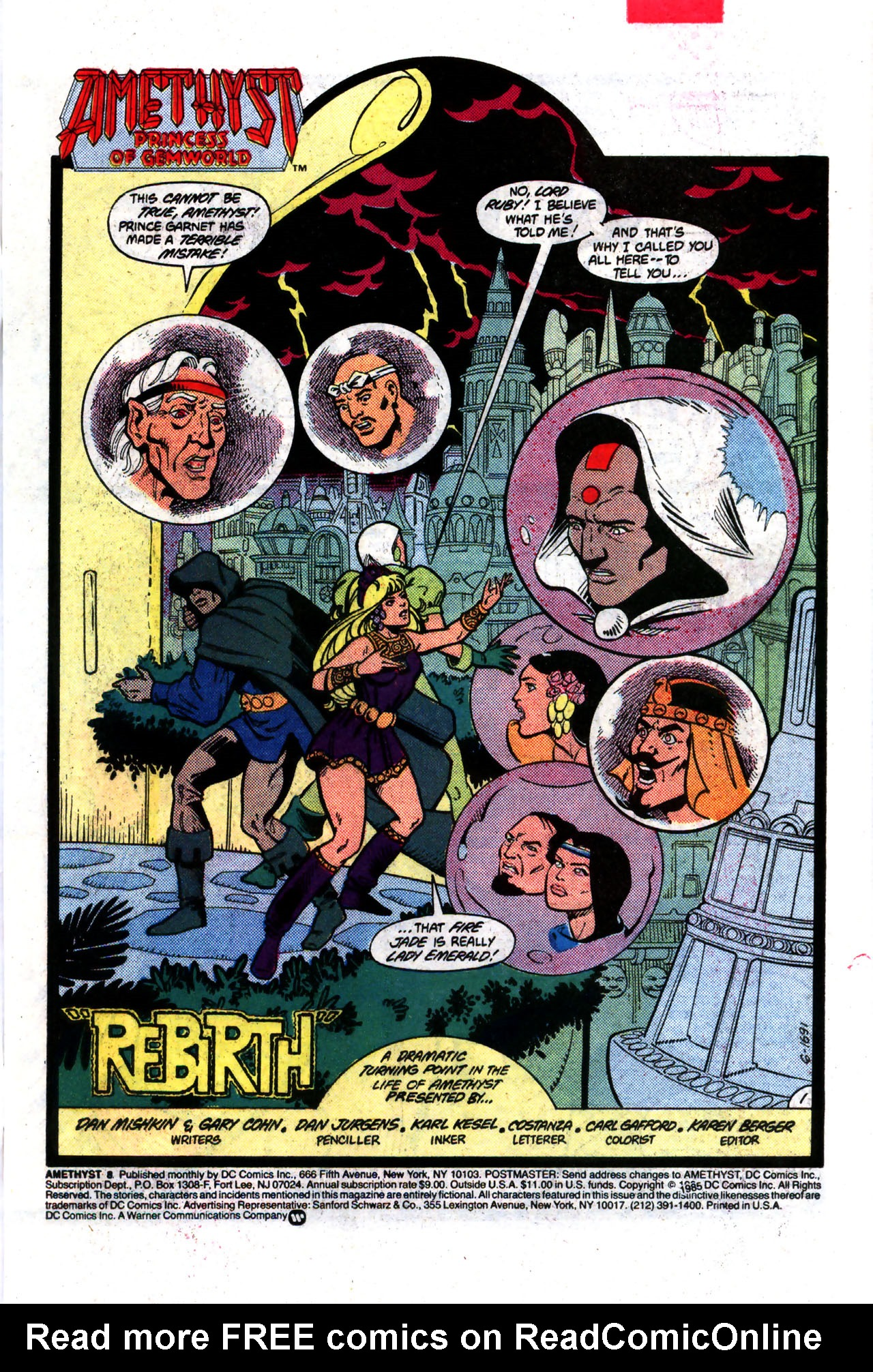 Read online Amethyst (1985) comic -  Issue #8 - 2