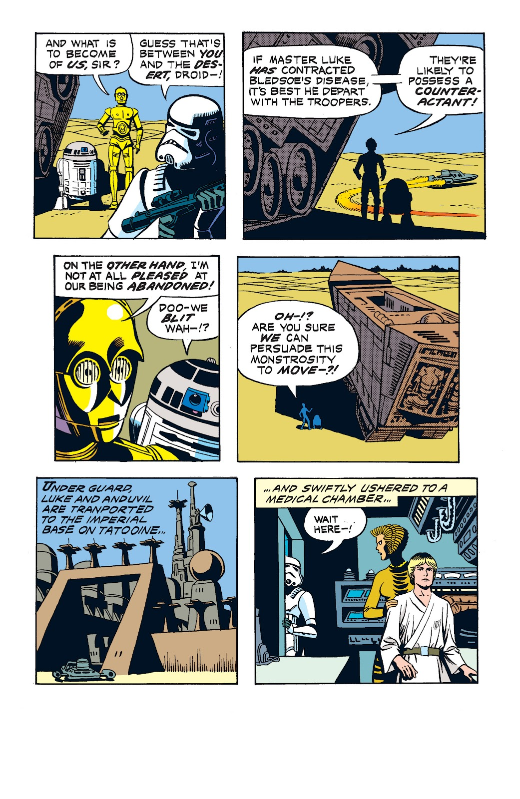 Read online Star Wars Legends: The Newspaper Strips - Epic Collection comic -  Issue # TPB (Part 2) - 39