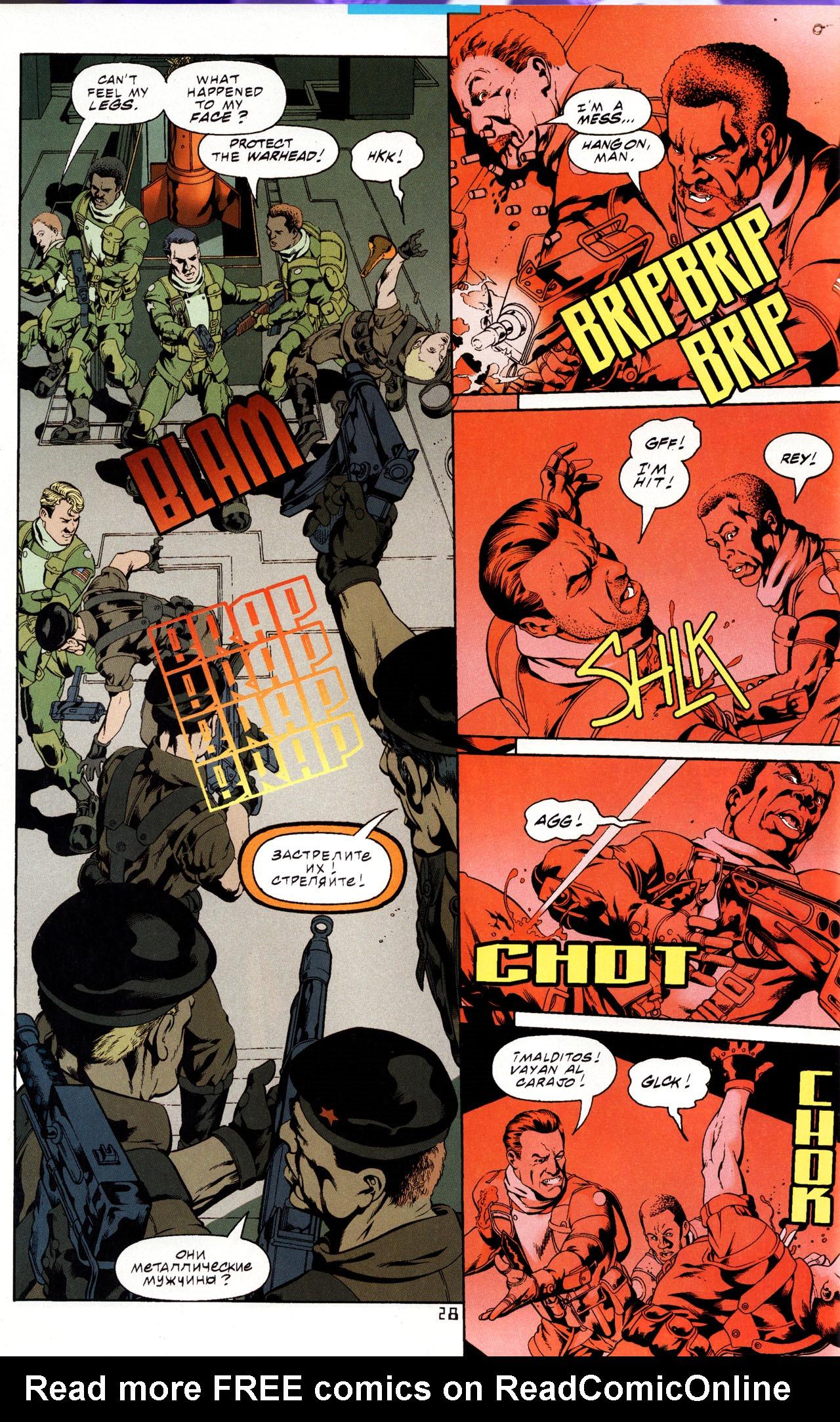 Read online Tangent Comics/ Metal Men comic -  Issue # Full - 27