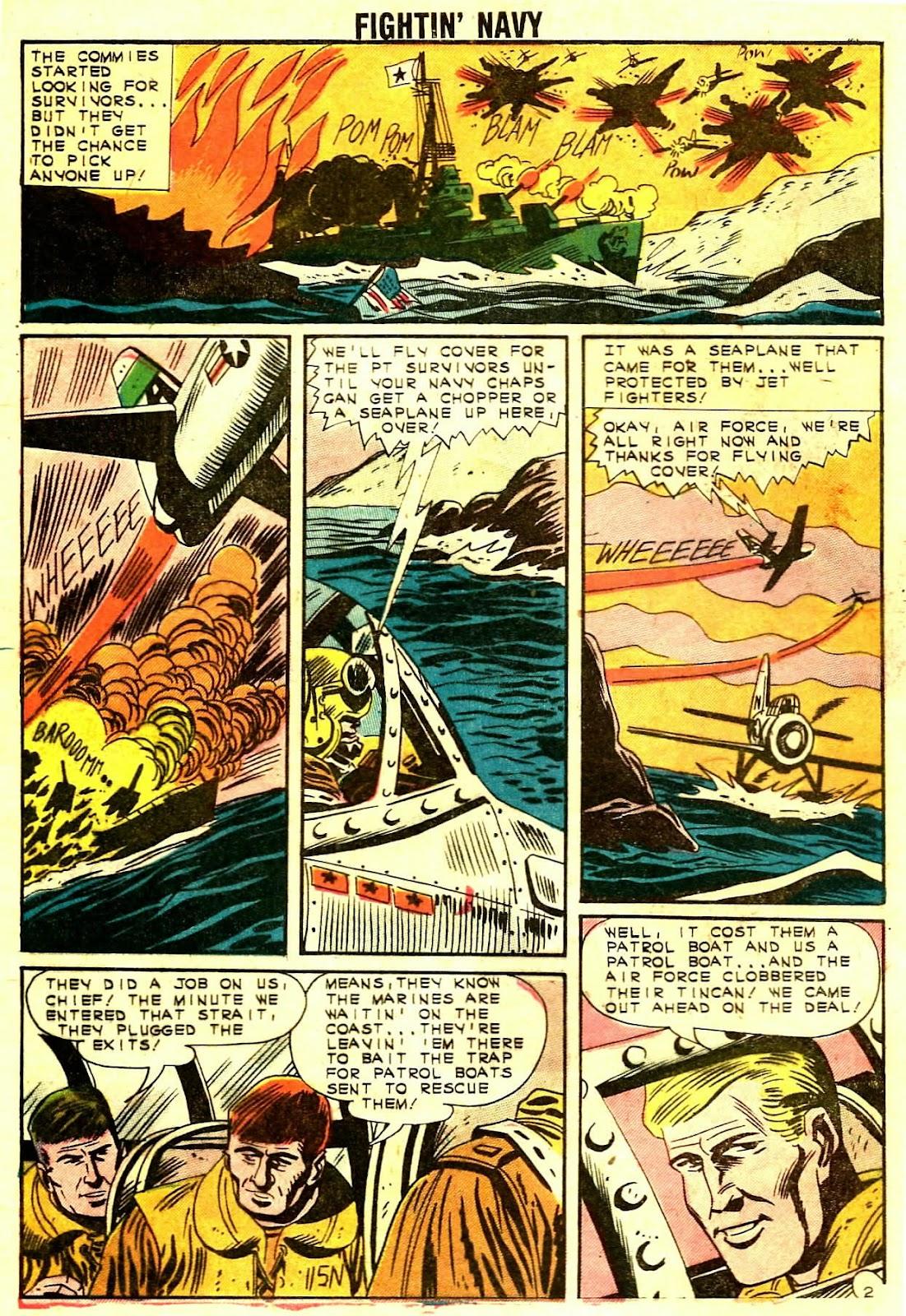 Read online Fightin' Navy comic -  Issue #109 - 4
