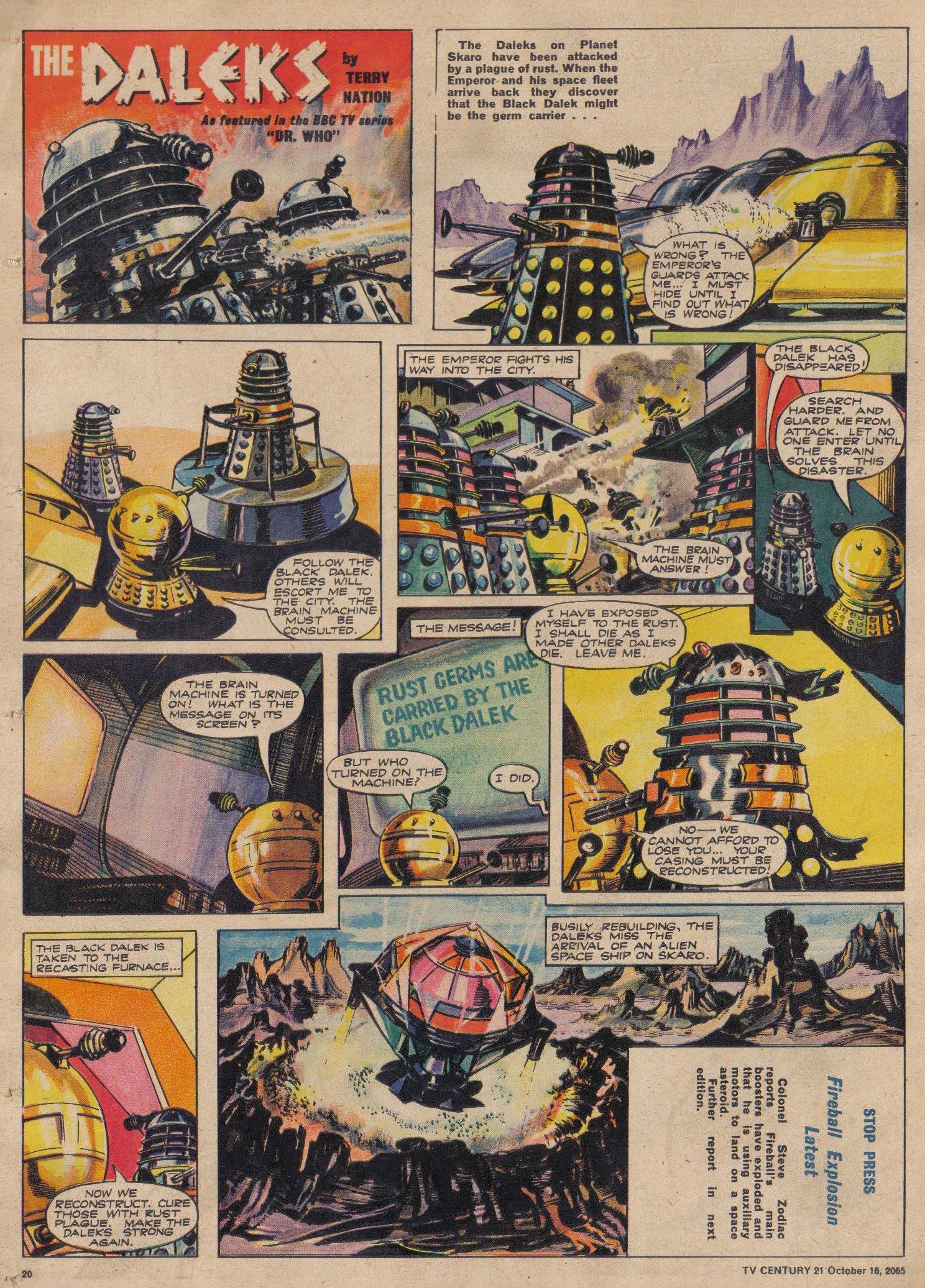 Read online TV Century 21 (TV 21) comic -  Issue #39 - 19