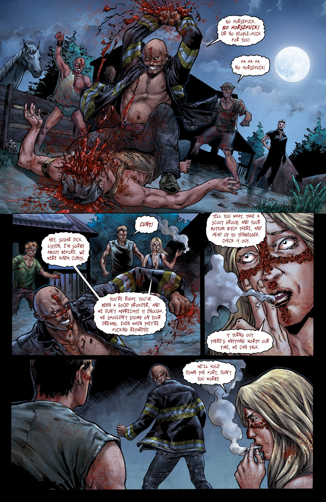 Crossed: Badlands issue 100 - Page 10