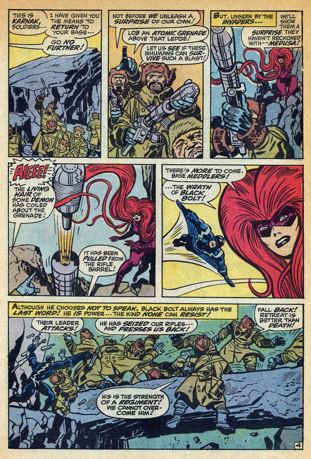 Read online Amazing Adventures (1970) comic -  Issue #1 - 7
