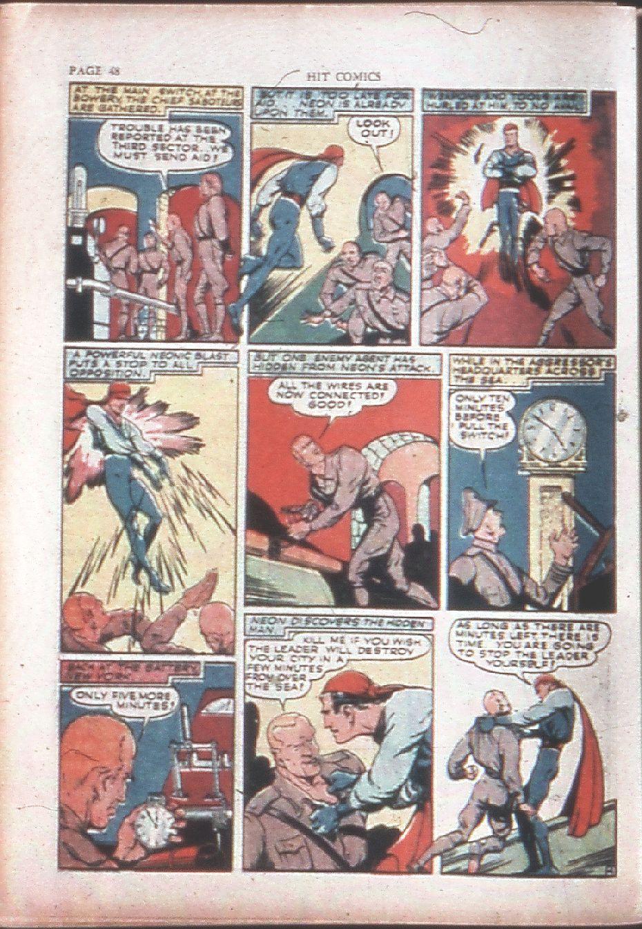 Read online Hit Comics comic -  Issue #15 - 50