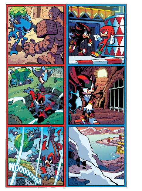 Read online Sonic Comics Spectacular: Speed of Sound comic -  Issue # Full - 242