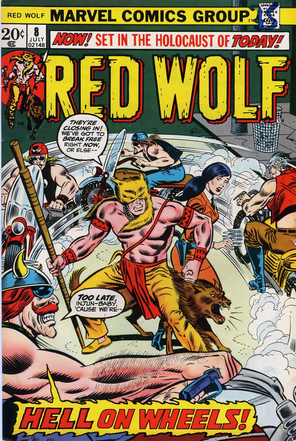 Red Wolf (1972) issue 8 - Page 1