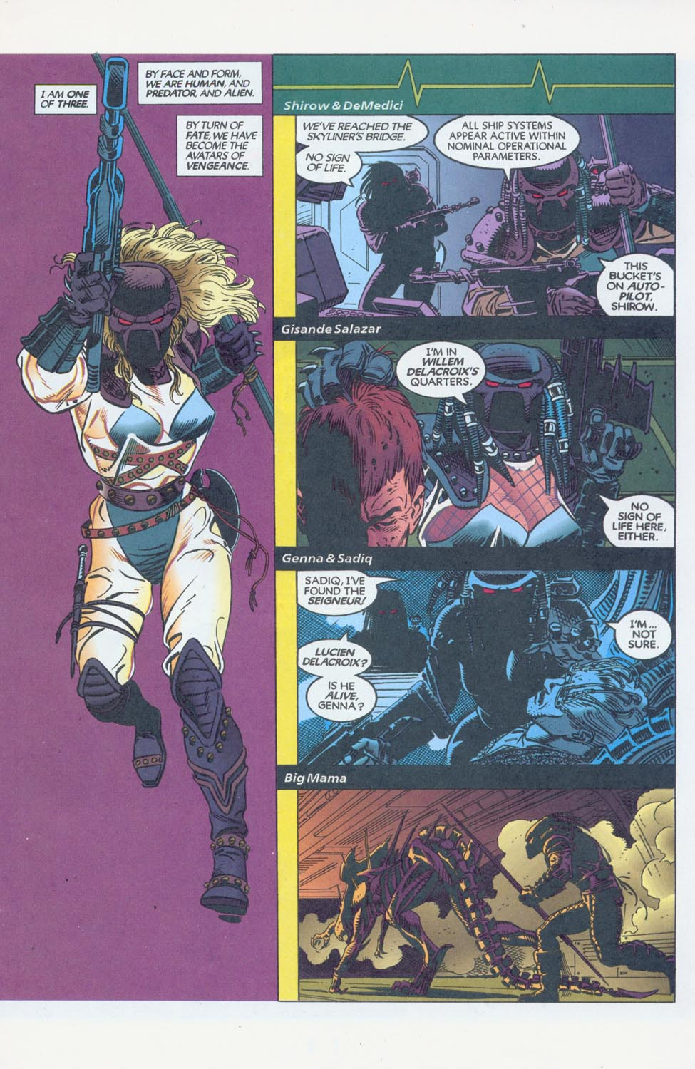 Read online Aliens/Predator: The Deadliest of the Species comic -  Issue #11 - 3