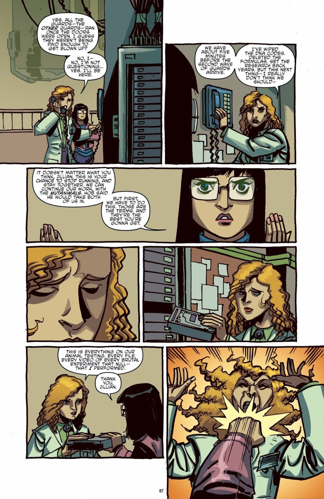 Read online Teenage Mutant Ninja Turtles: The IDW Collection comic -  Issue # TPB 6 (Part 1) - 86