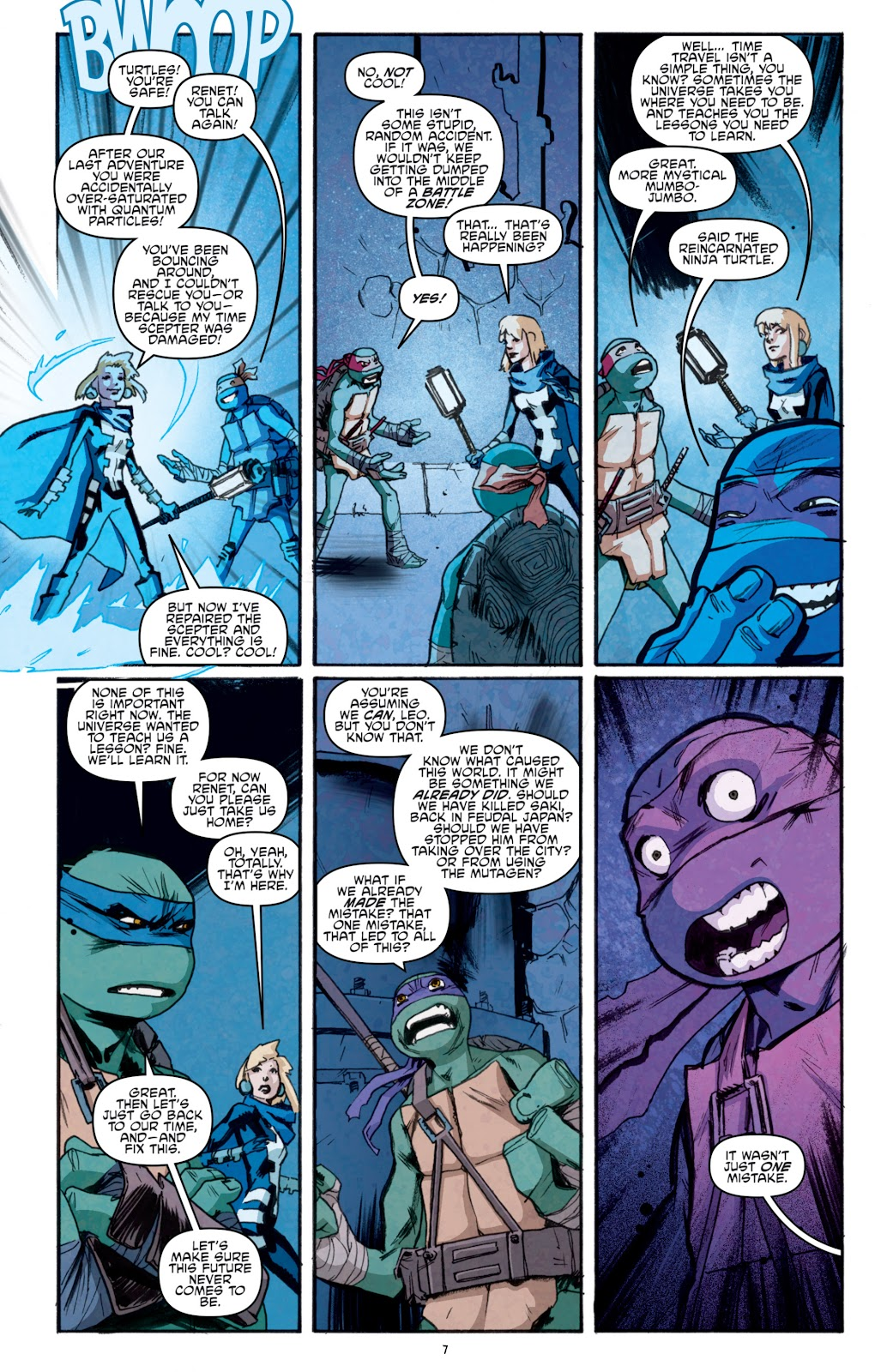 Read online Teenage Mutant Ninja Turtles: The IDW Collection comic -  Issue # TPB 5 (Part 1) - 82