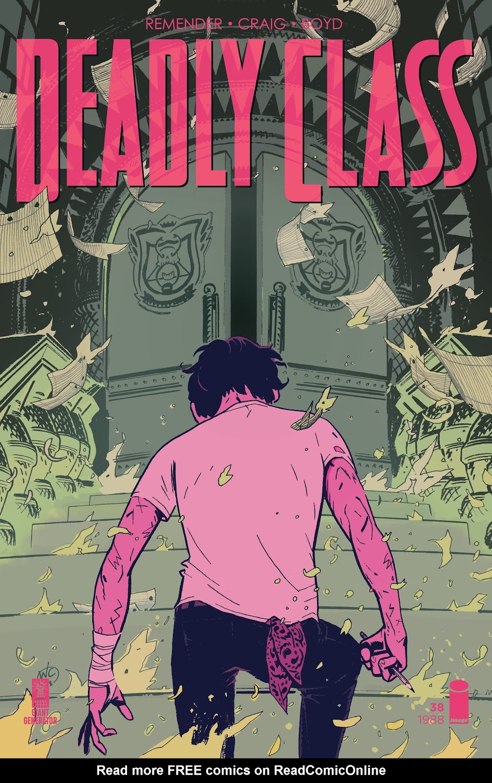 Read online Deadly Class comic -  Issue #38 - 1