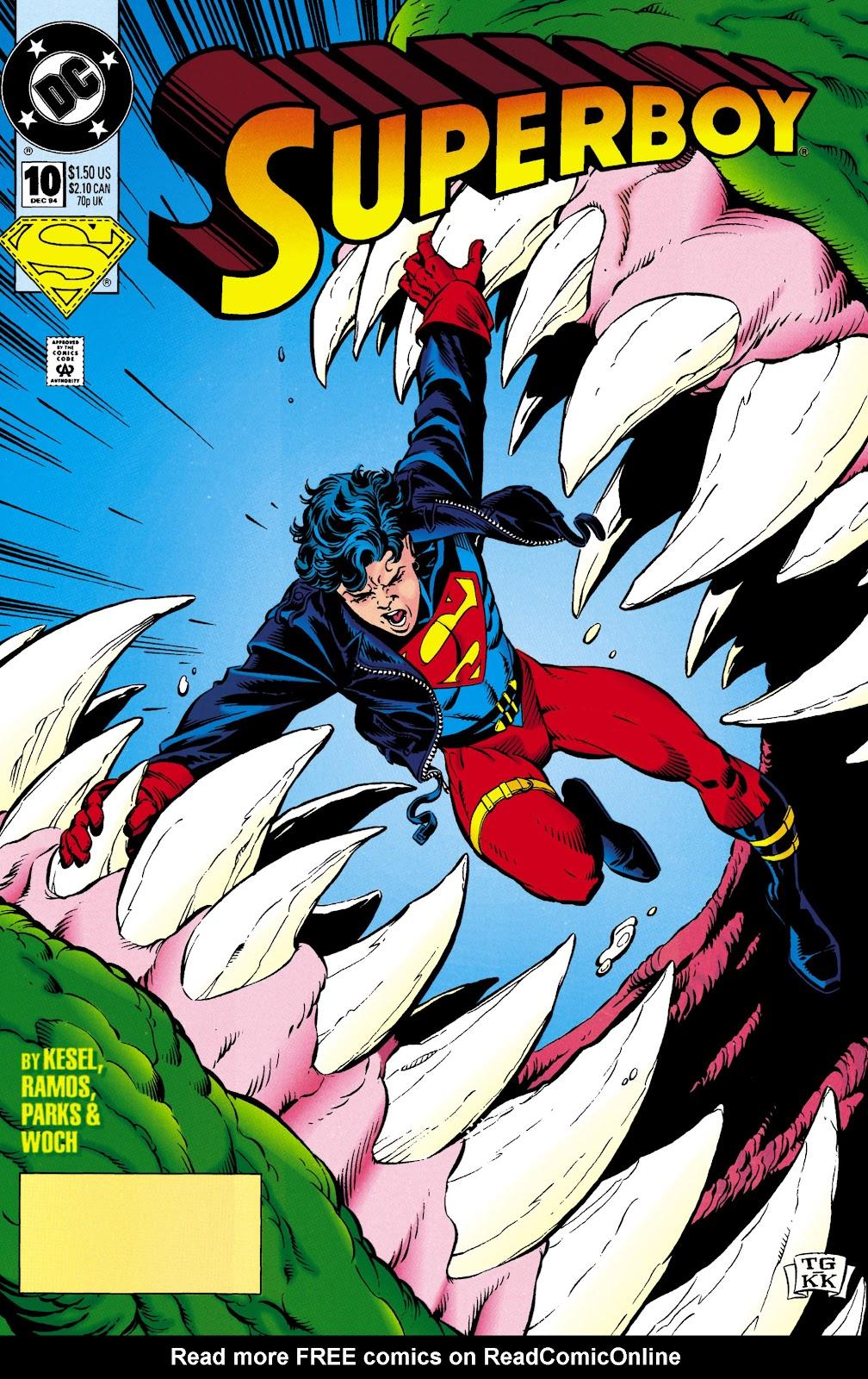 Superboy (1994) 10 Page 1