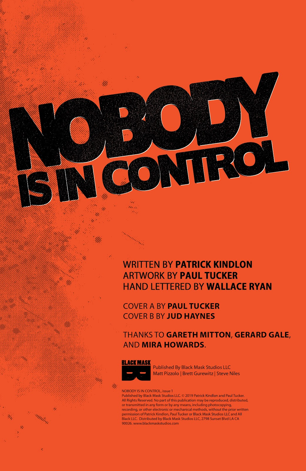 Read online Nobody Is In Control comic -  Issue #1 - 4