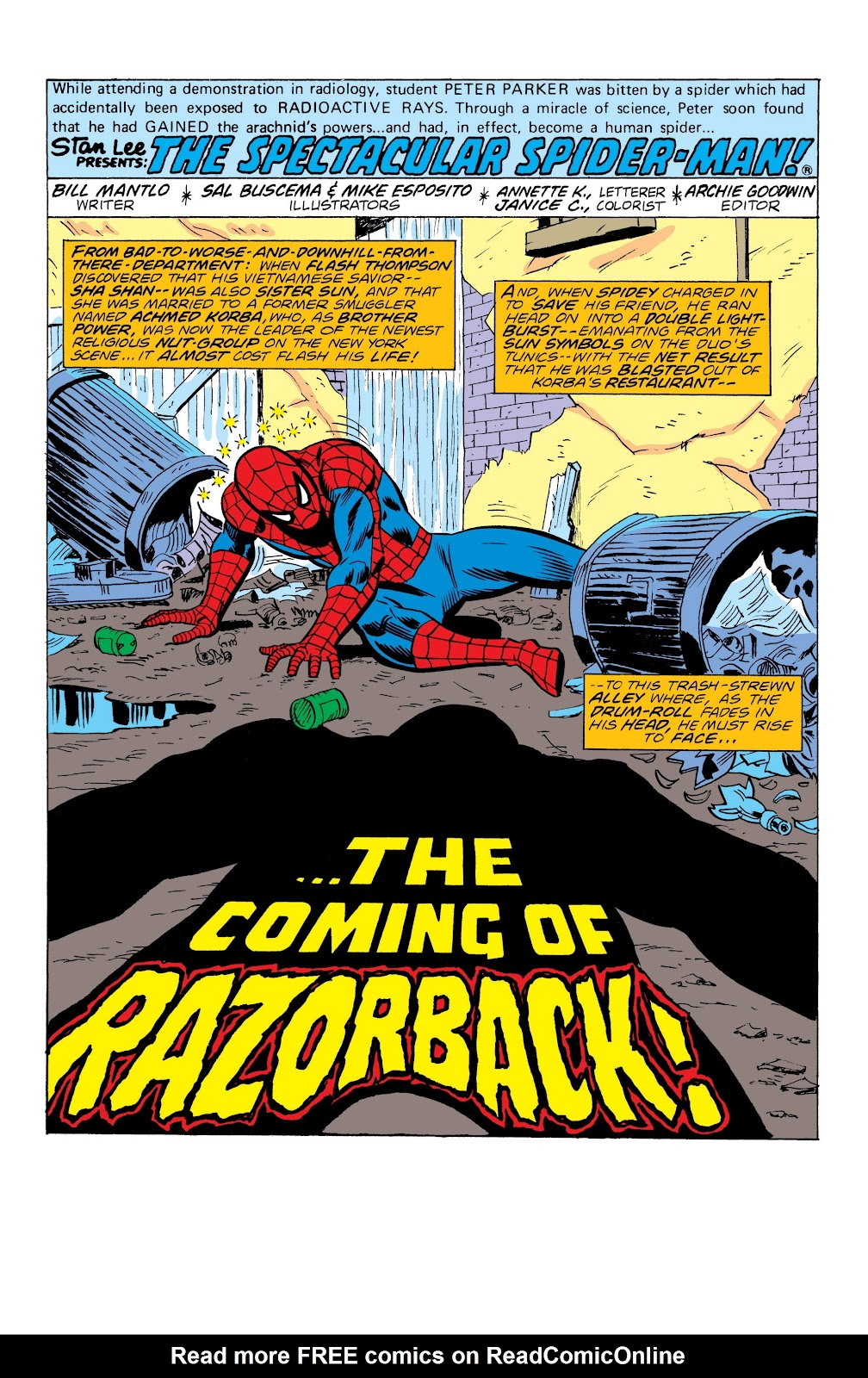 Read online Marvel Masterworks: The Spectacular Spider-Man comic -  Issue # TPB (Part 3) - 11