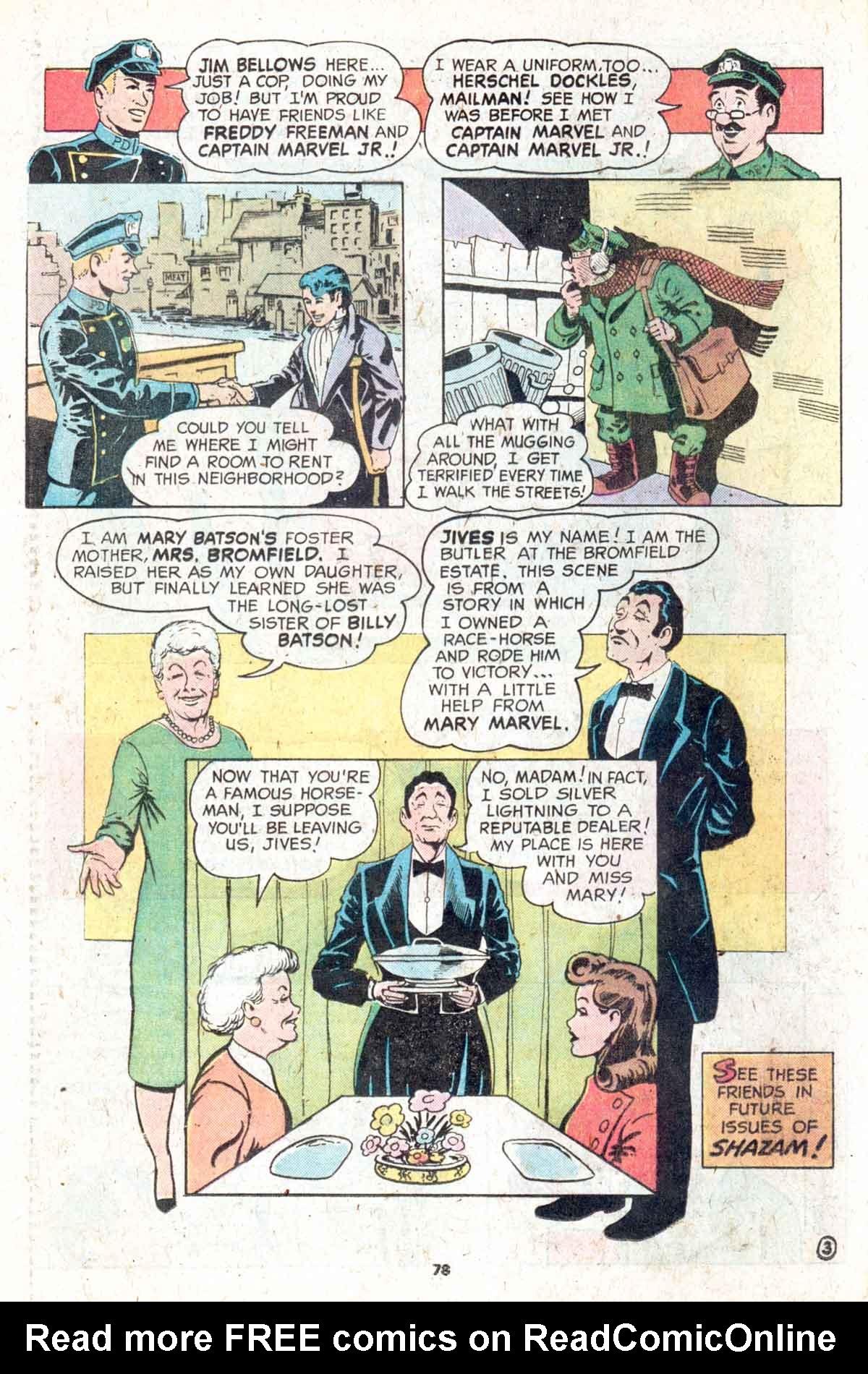 Read online Shazam! (1973) comic -  Issue #13 - 79