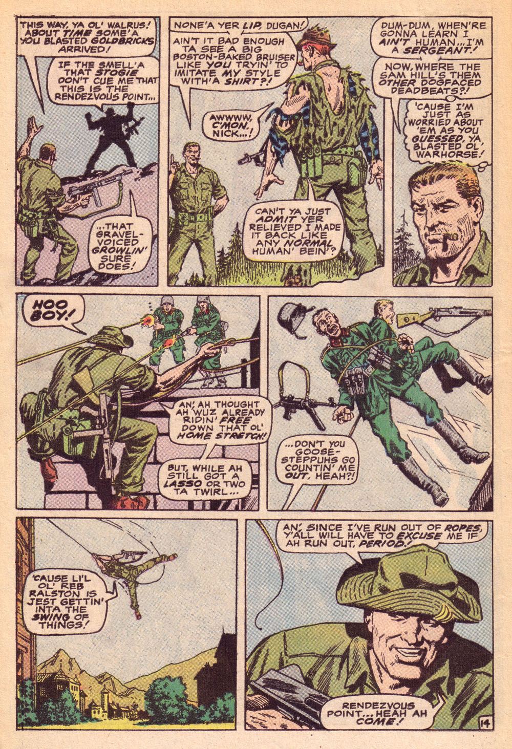 Read online Sgt. Fury comic -  Issue #74 - 20