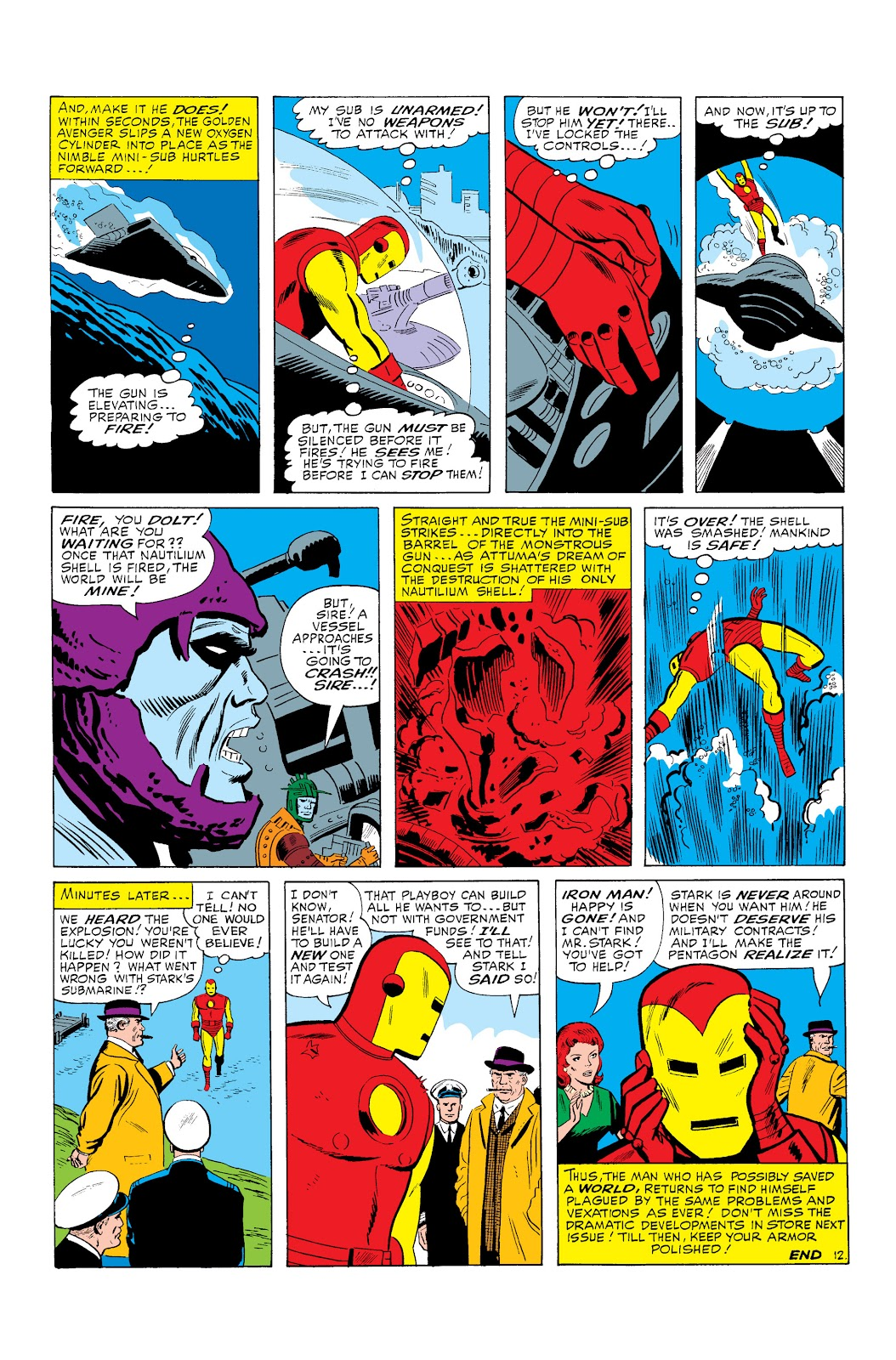 Read online Marvel Masterworks: The Invincible Iron Man comic -  Issue # TPB 3 (Part 1) - 15
