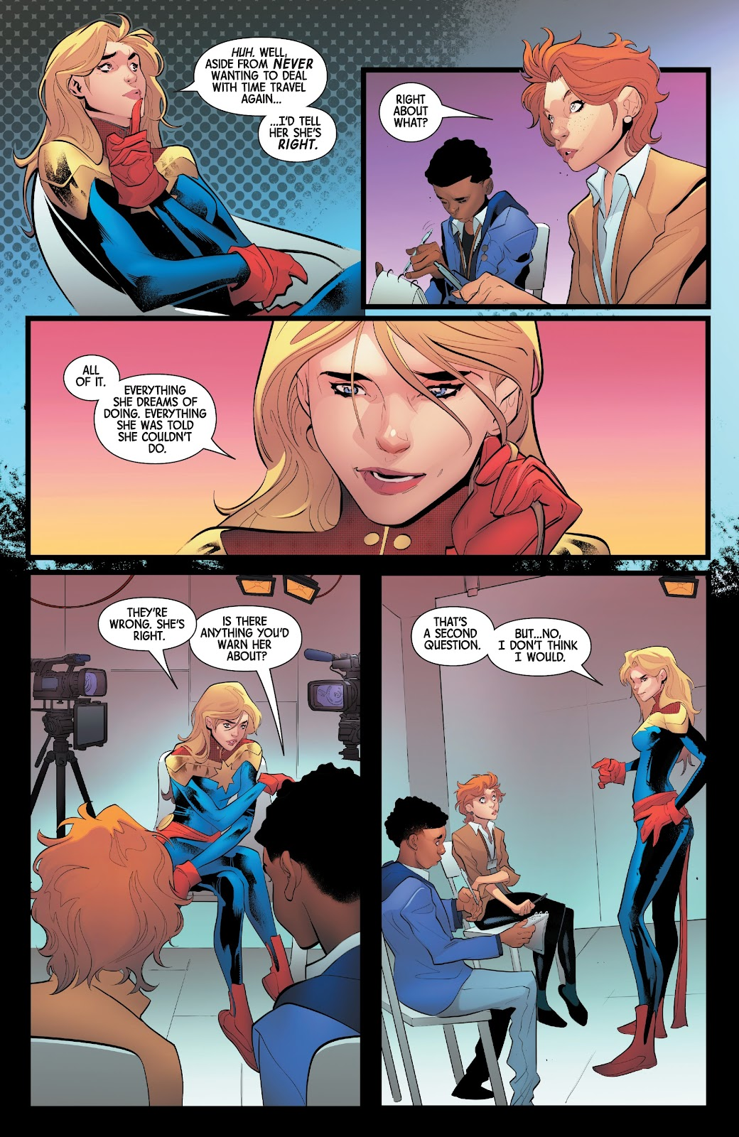 Read online Captain Marvel: Braver & Mightier comic -  Issue #1 - 20