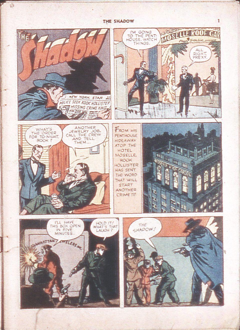 Read online Shadow Comics comic -  Issue #6 - 3