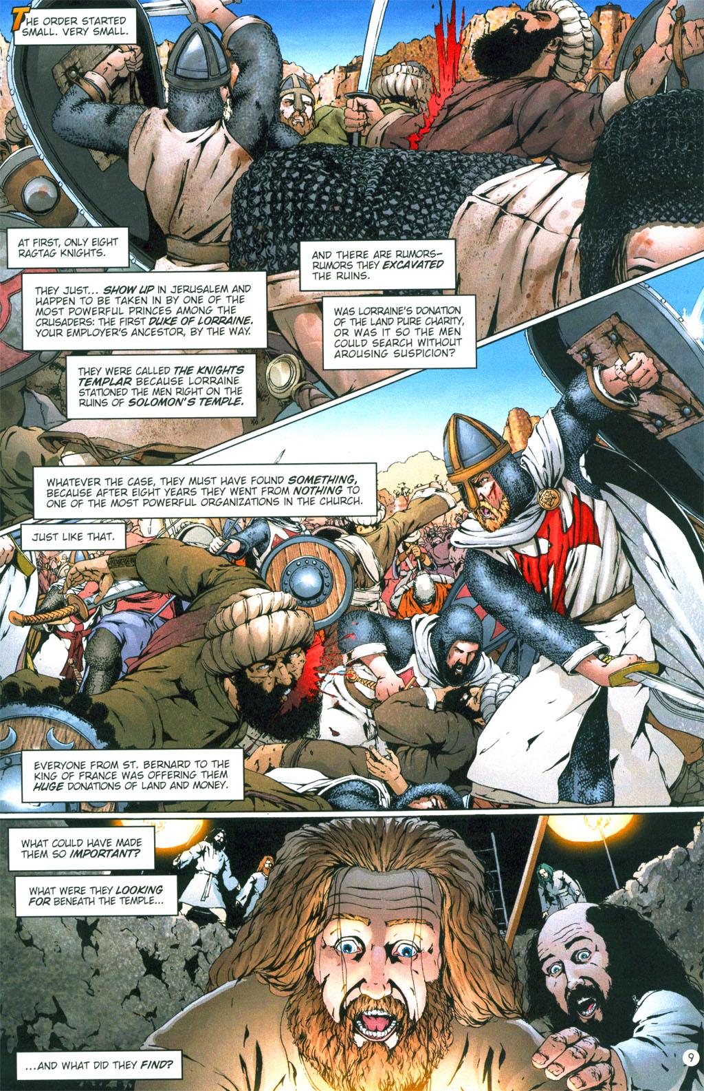 Read online Rex Mundi comic -  Issue #6 - 12