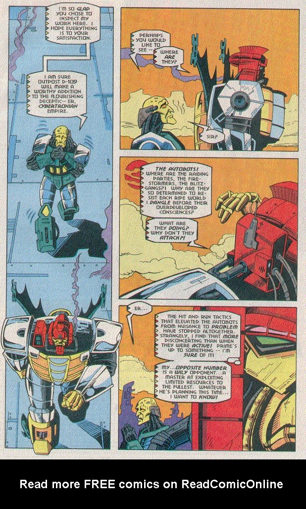 Read online Transformers: Generation 2 comic -  Issue #5 - 7
