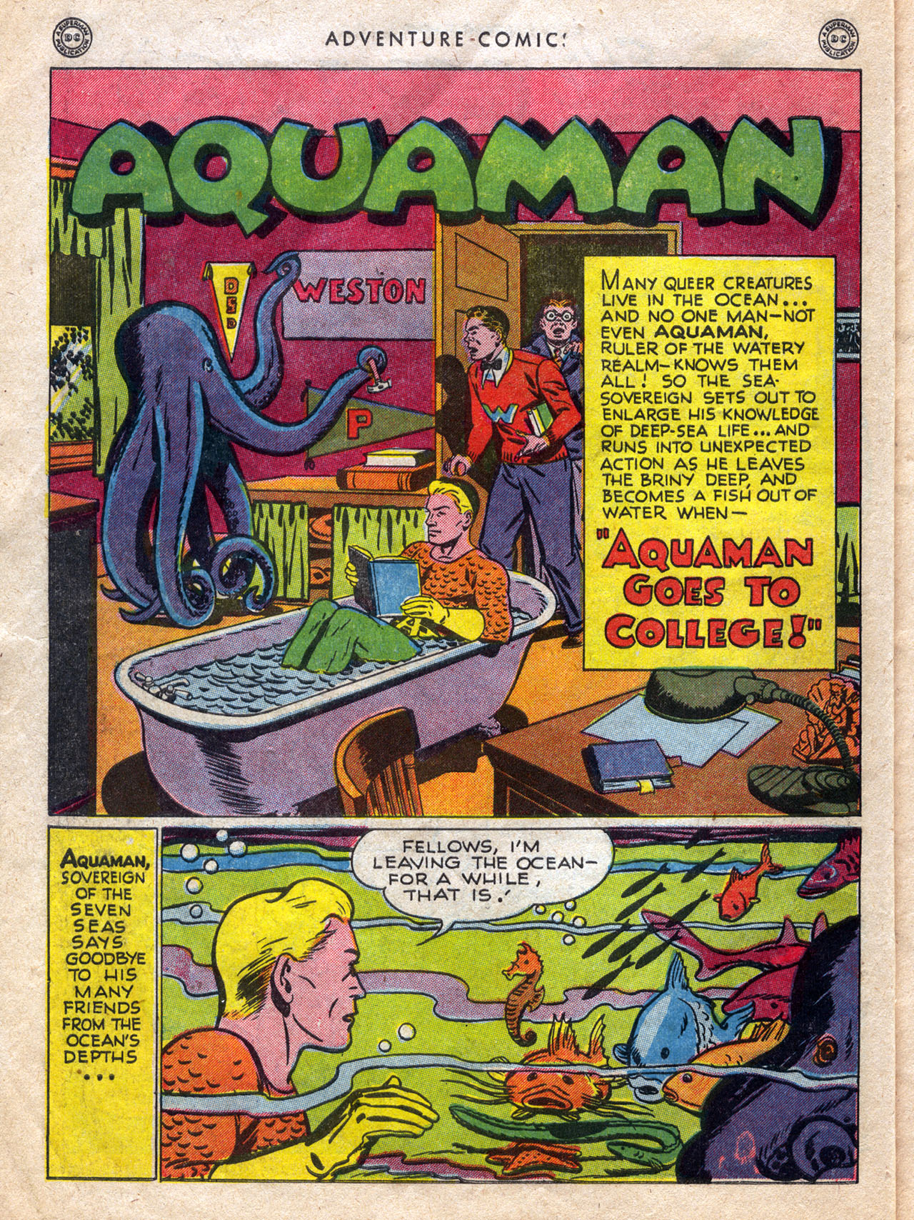 Read online Adventure Comics (1938) comic -  Issue #120 - 14